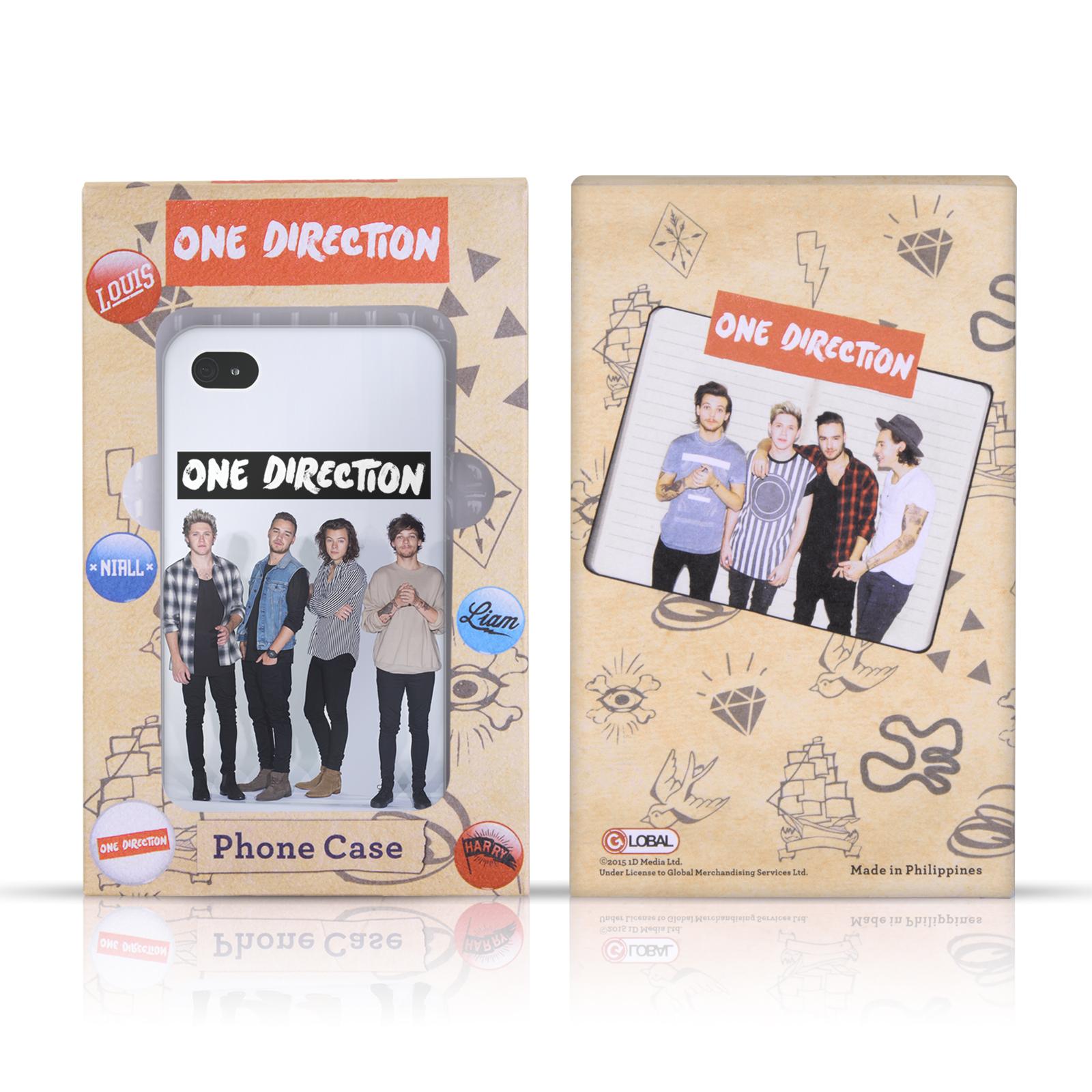 Ufficiale-One-Direction-1D-DOODLE-GUAM-Hybrid-caso-per-Apple-iPhone-4