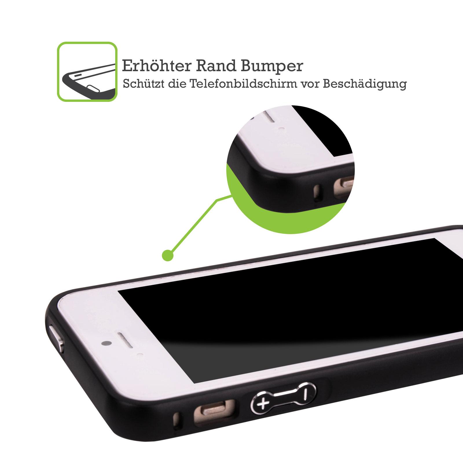 HEAD-CASE-DESIGNS-TIERE-UND-BERUFE-SCHWARZ-RAHMEN-HULLE-FUR-APPLE-iPHONE-HANDYS
