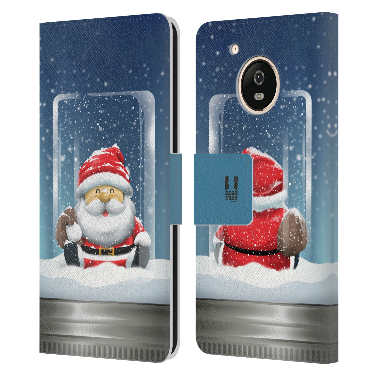 HEAD-CASE-DESIGNS-CHRISTMAS-IN-JARS-LEATHER-BOOK-CASE-FOR-MOTOROLA-MOTO-G5