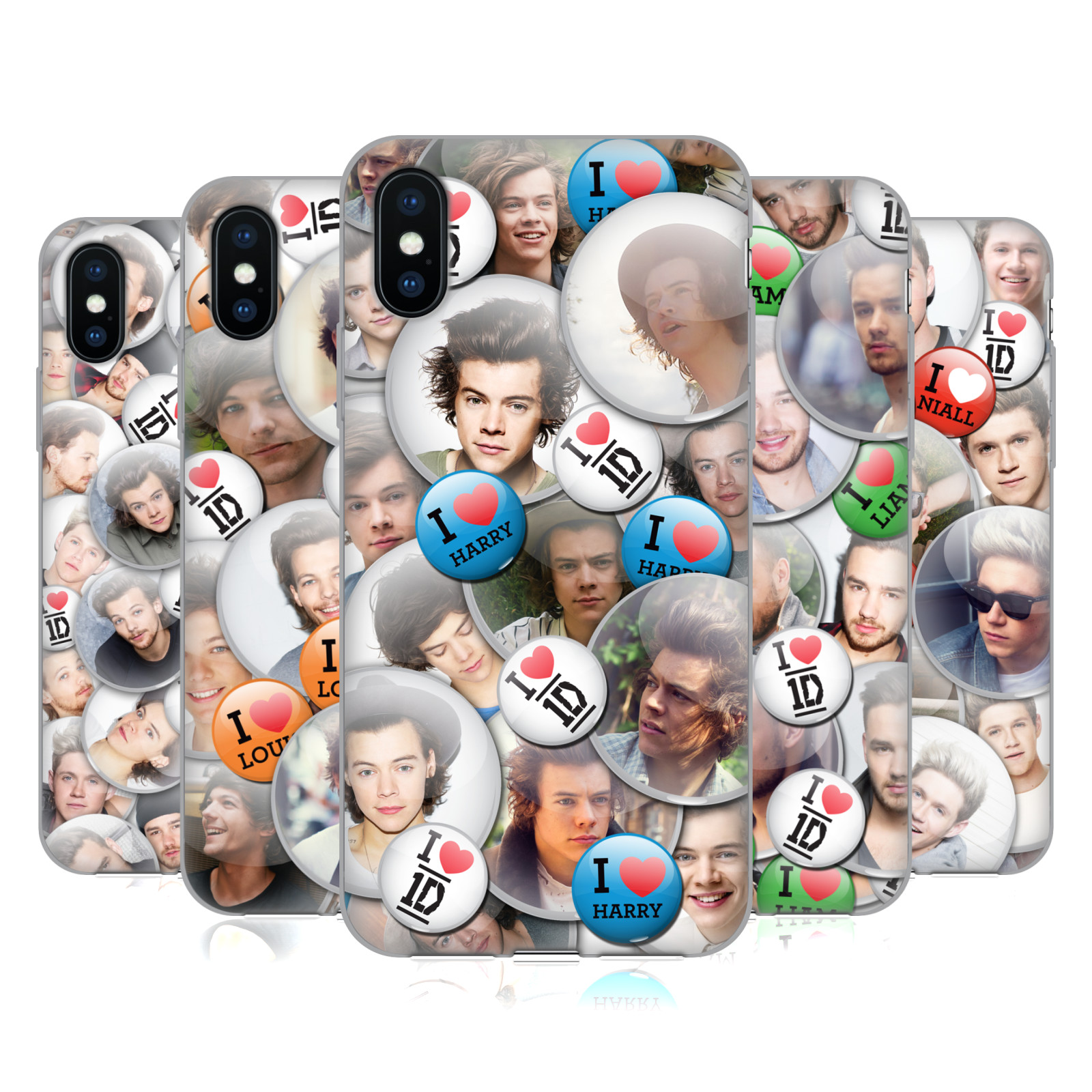 One Direction Button Pins