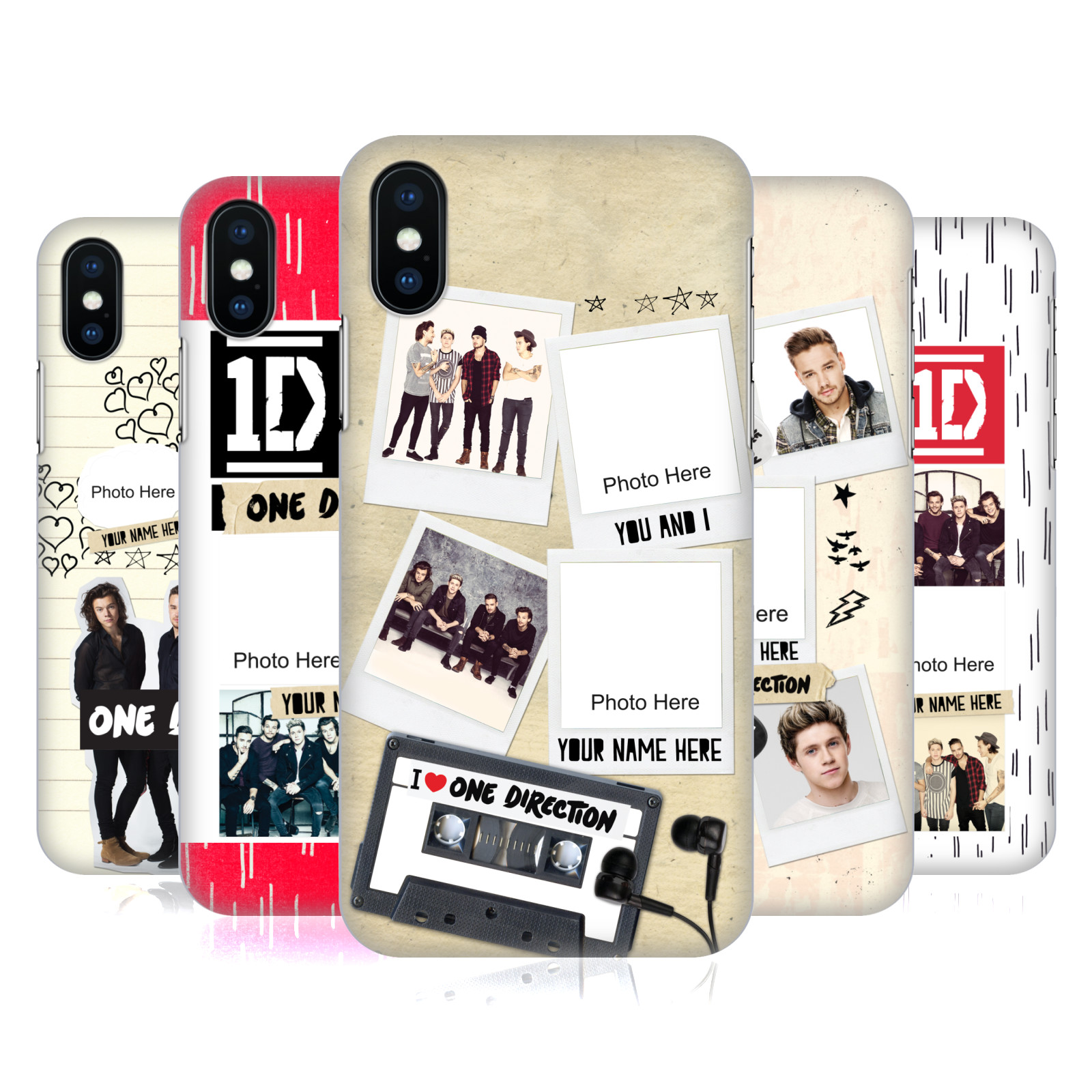 Custom Customised Personalised One Direction 1D Crazy Over You