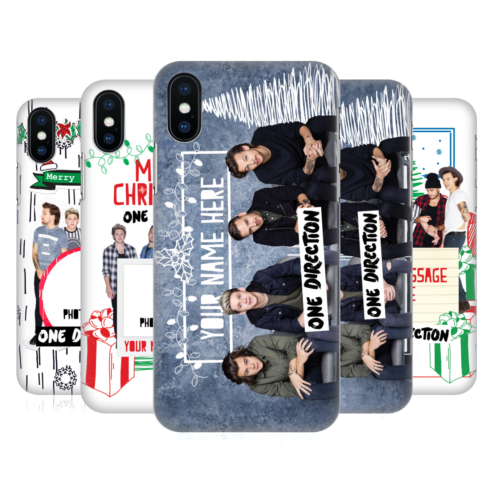 Custom Personalised One Direction 1D Christmas