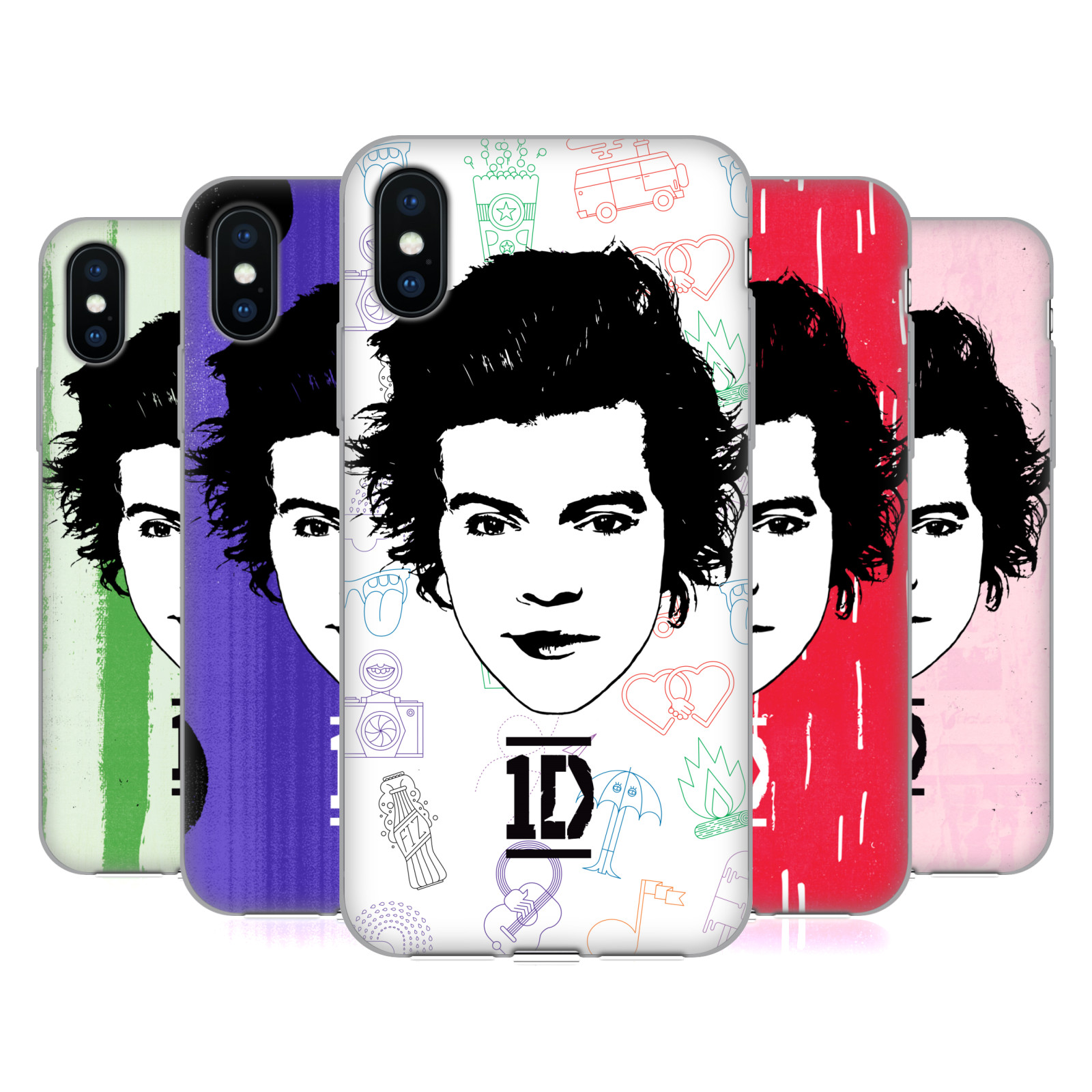 One Direction Graphic Face Harry