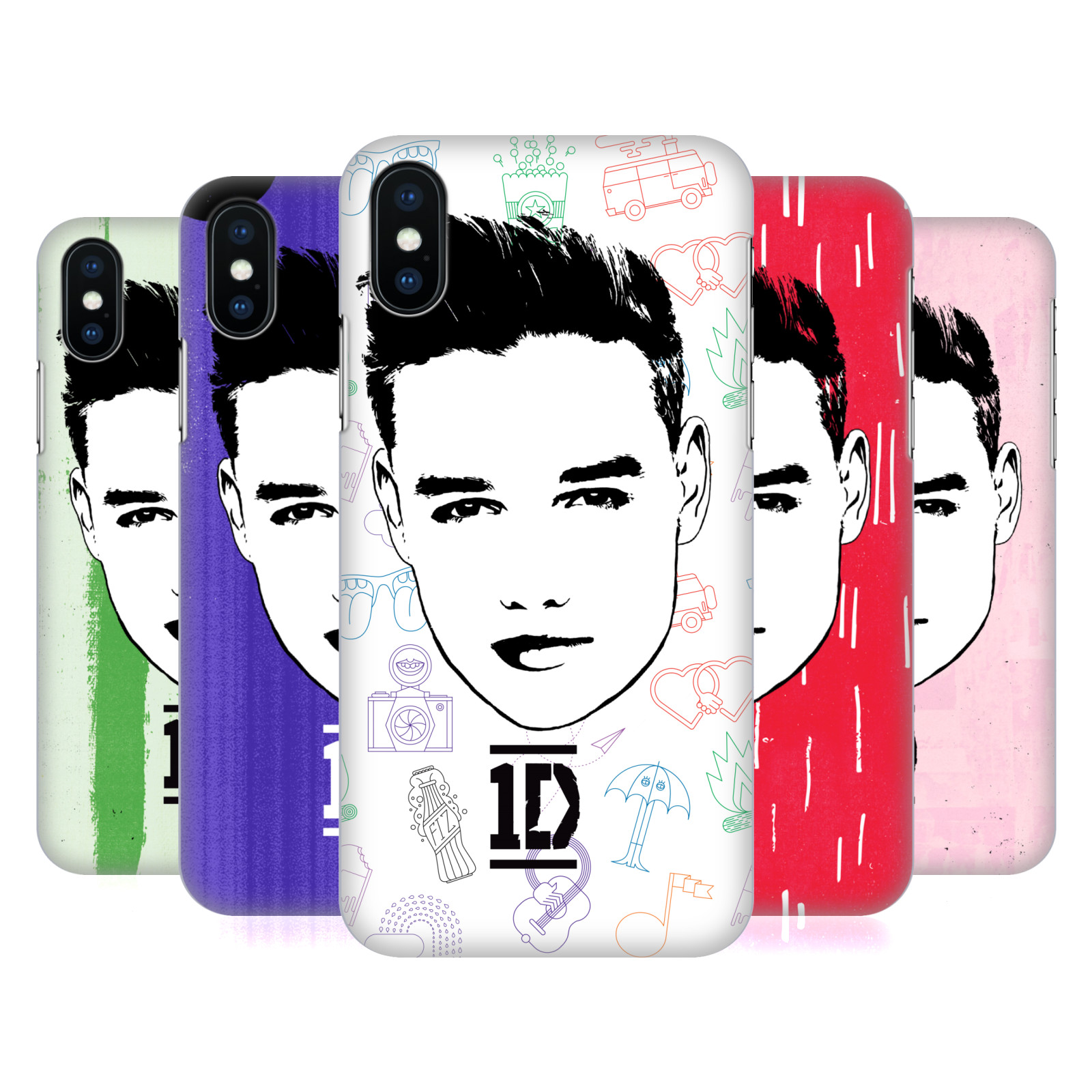 One Direction Graphic Face Liam
