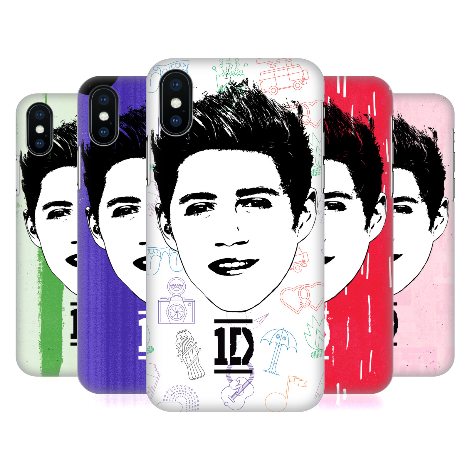 One Direction Graphic Face Niall