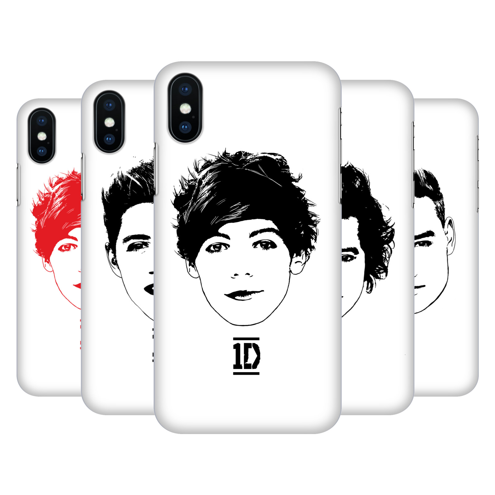 One Direction Graphic Faces