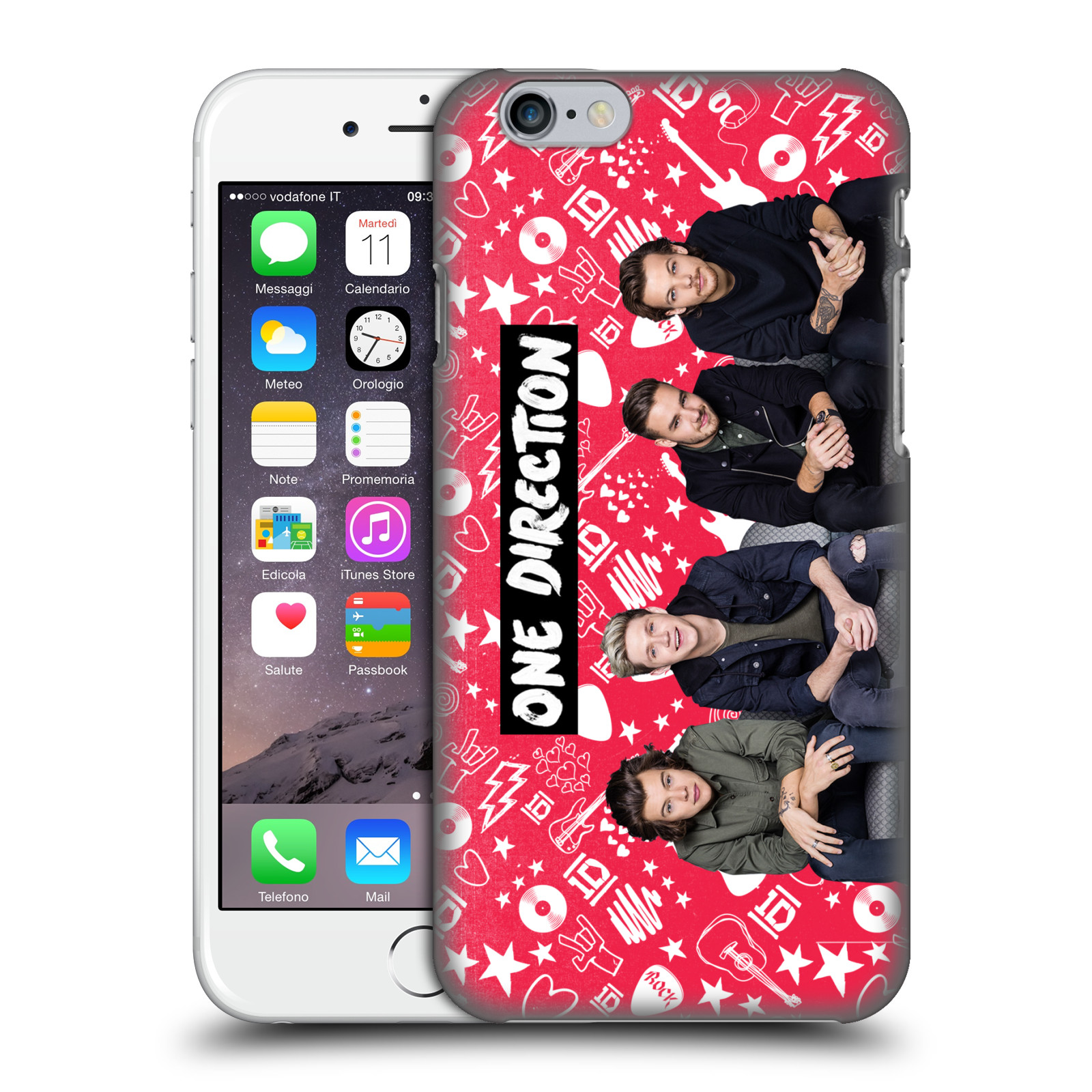 OFFICIAL-ONE-DIRECTION-GROUP-PHOTO-DOODLE-ICON-BACK-CASE-FOR-APPLE-iPHONE-PHONES
