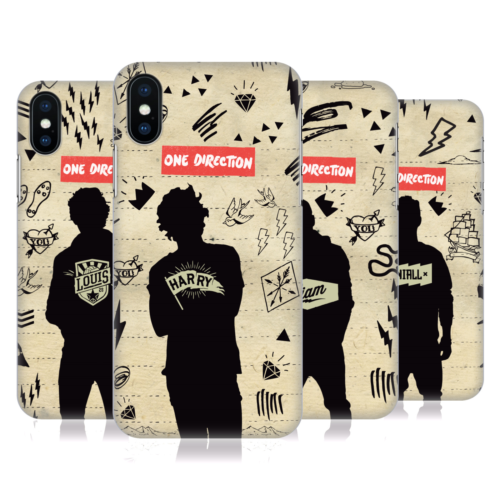 One Direction Silhouettes