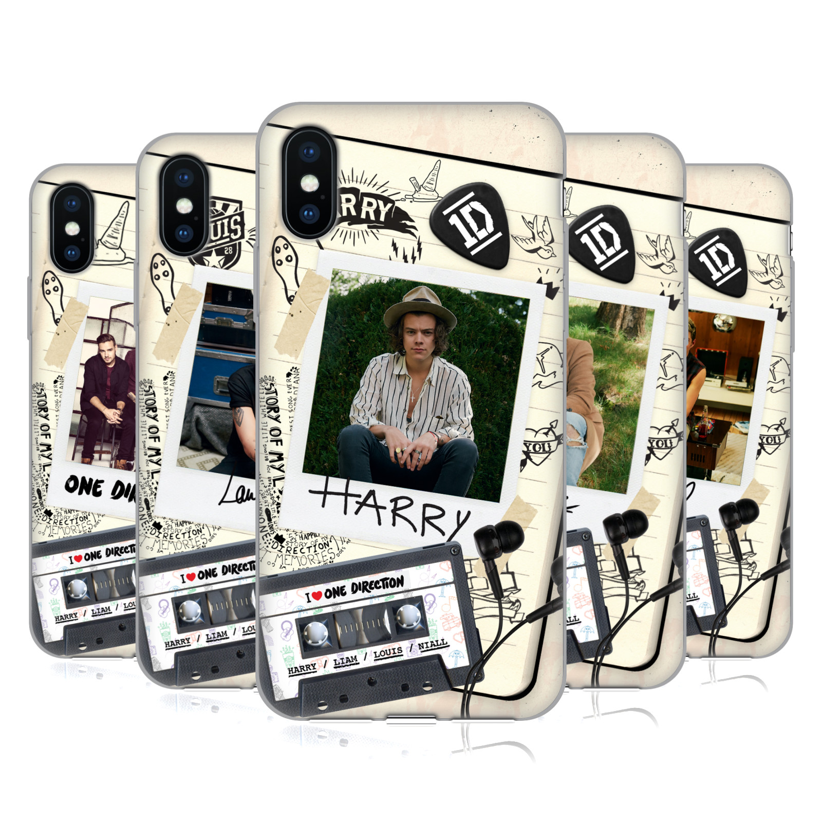 One Direction Tape Snapshot