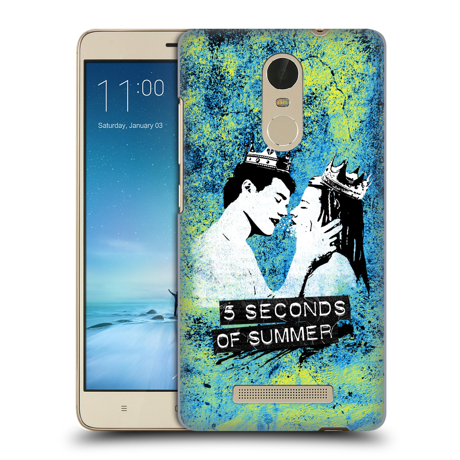 OFFICIAL-5-SECONDS-OF-SUMMER-COLOUR-CHAOS-HARD-BACK-CASE-FOR-XIAOMI-PHONES