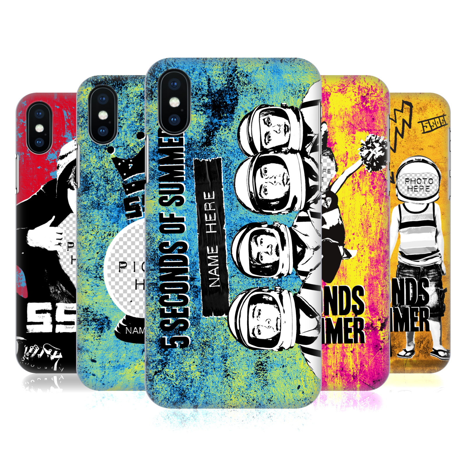 Custom Customised Personalised 5 Seconds of Summer Mixed Icons