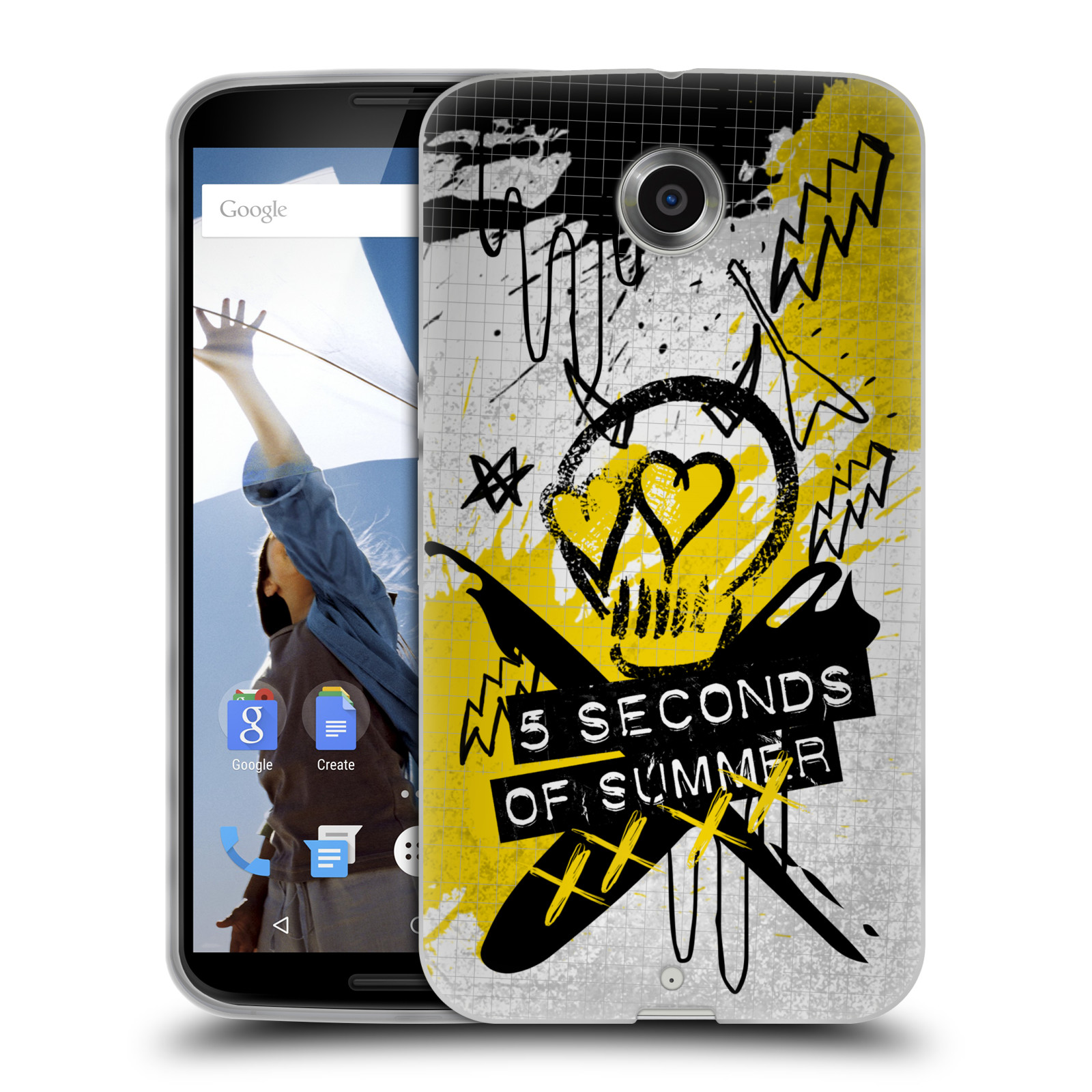 OFFICIAL-5-SECONDS-OF-SUMMER-ICONS-GEL-CASE-FOR-MOTOROLA-PHONES