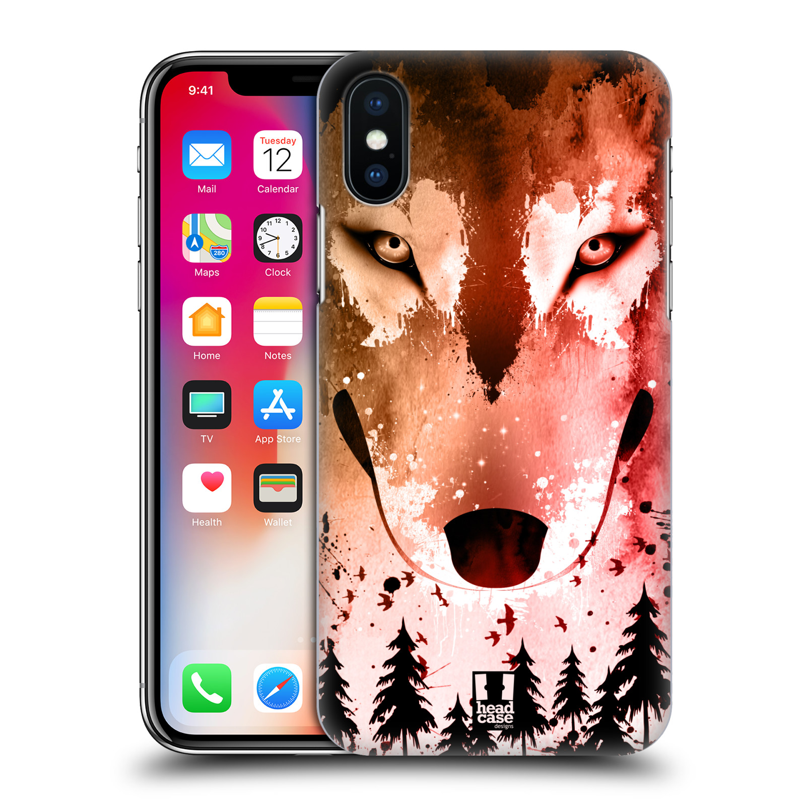 HEAD-CASE-DESIGNS-SAFARI-ASTRATTO-COVER-RETRO-RIGIDA-PER-APPLE-iPHONE-TELEFONI