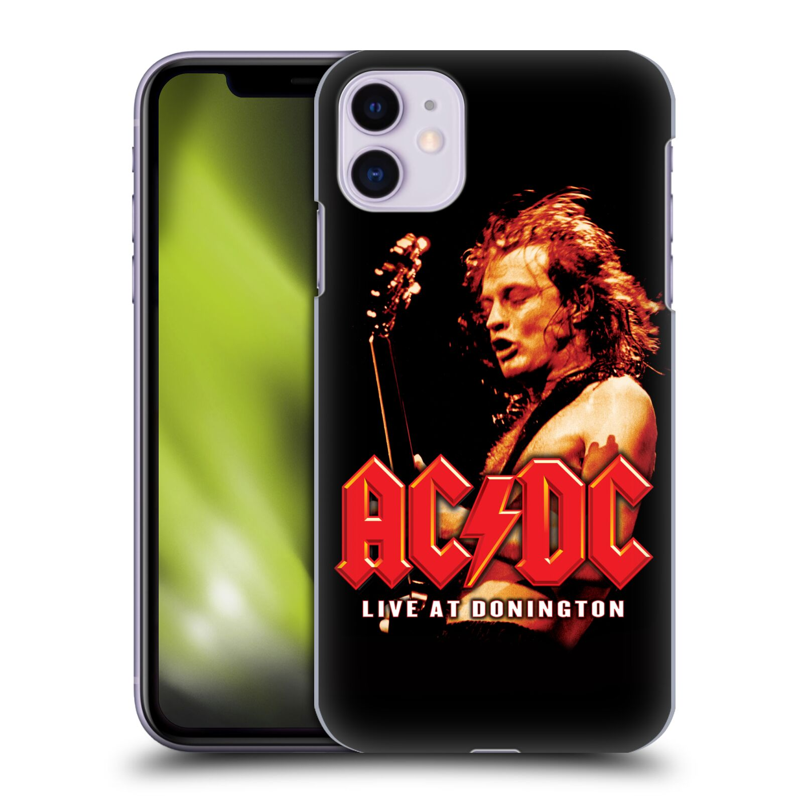 Official AC/DC ACDC Album Art Live At Donington Back Case for Apple iPhone 11