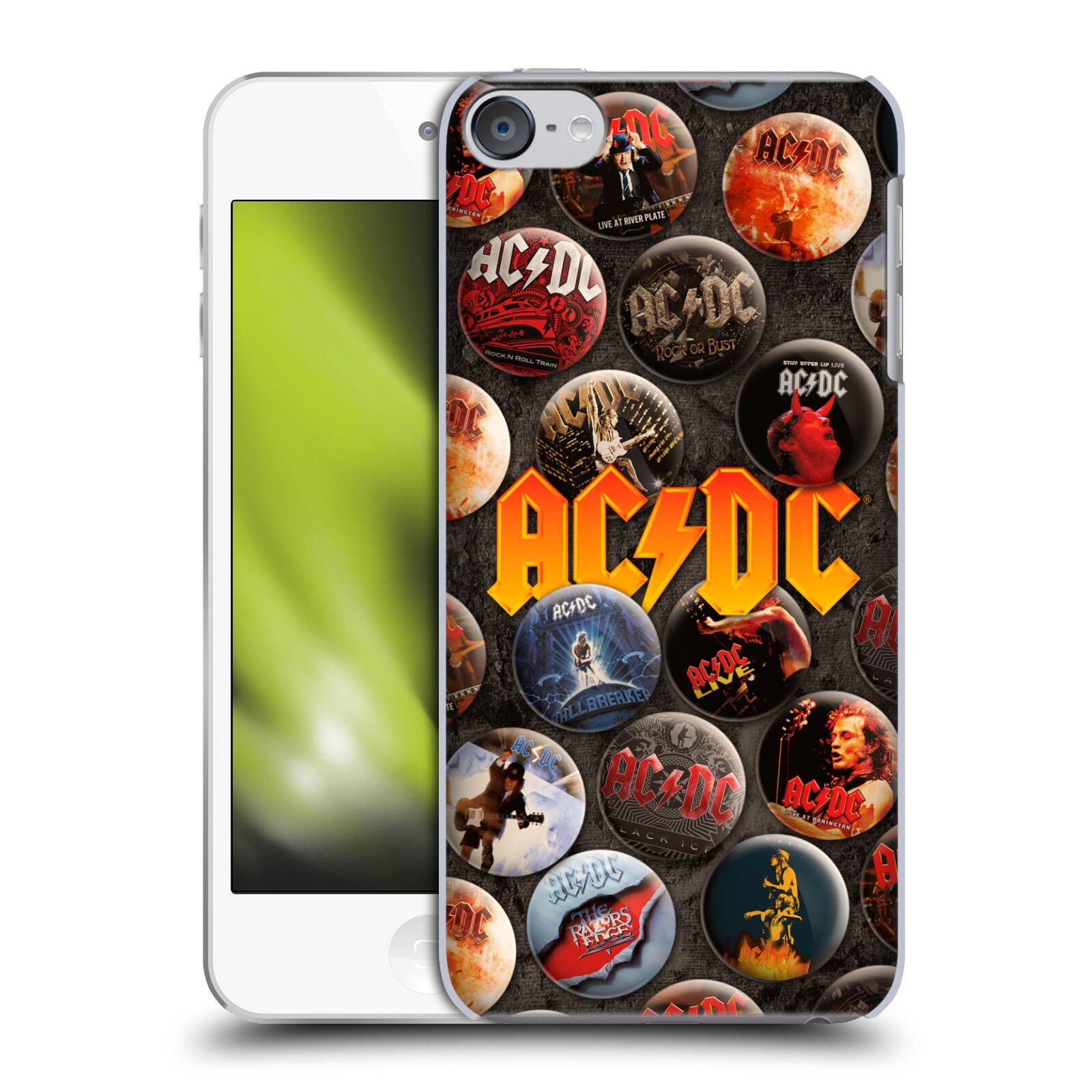 Oficial-de-AC-DC-ACDC-boton-Pines-Funda-Rigida-Posterior-Para-Apple-iPod-Touch-MP3
