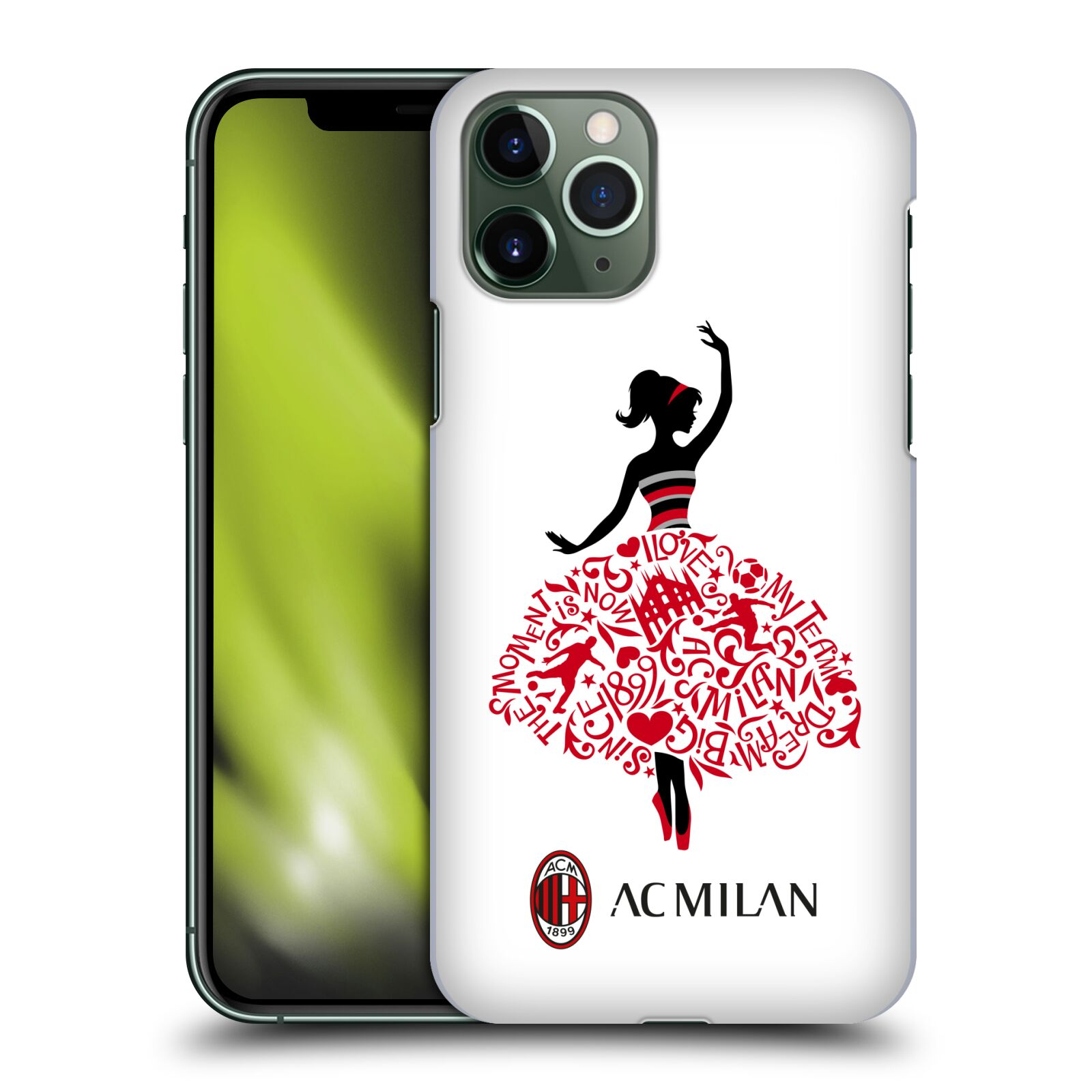 Official AC Milan 2018/19 Children Dream Big Case for Apple iPhone 11 Pro