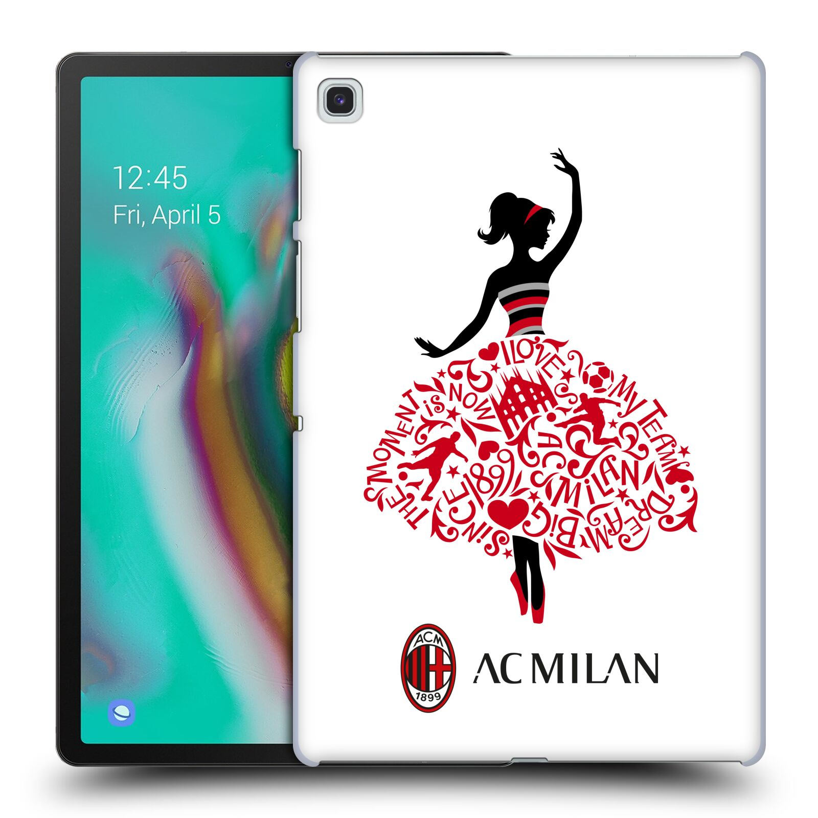Official AC Milan 2018/19 Children Dream Big Case for Samsung Galaxy Tab S5e