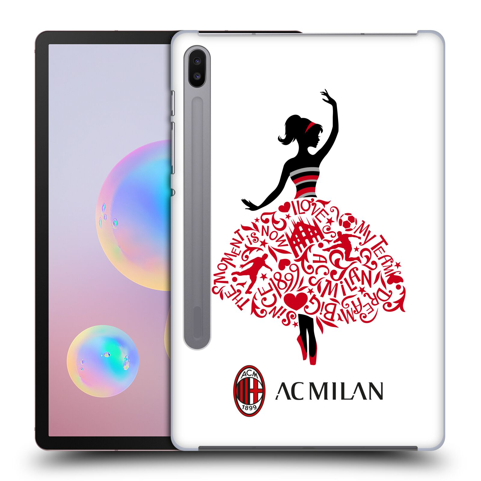 Official AC Milan 2018/19 Children Dream Big Case for Samsung Galaxy Tab S6 (2019)
