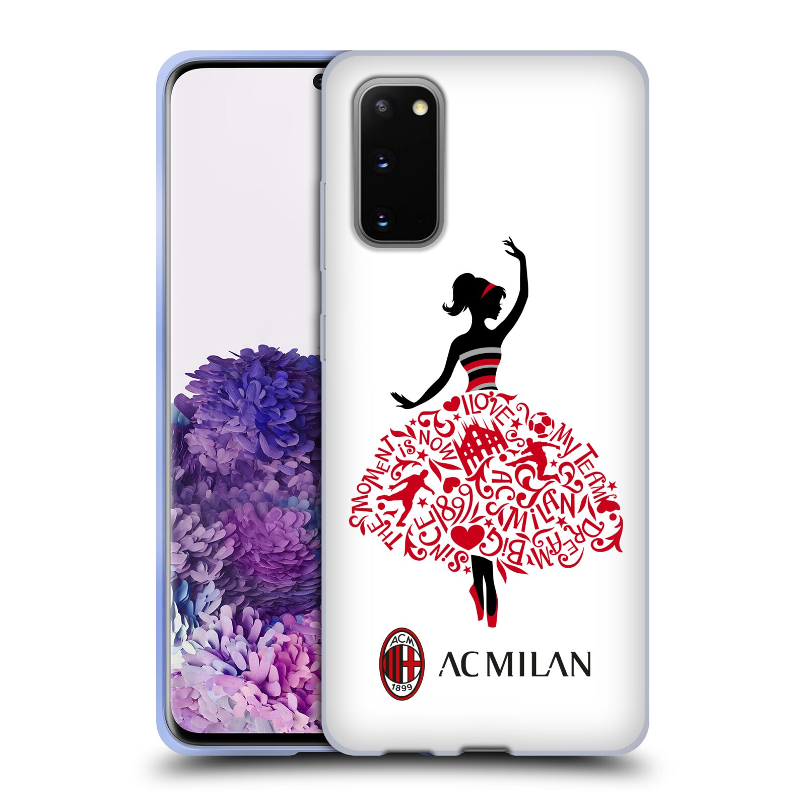 Official AC Milan 2018/19 Children Dream Big Gel Case for Samsung Galaxy S20 / S20 5G
