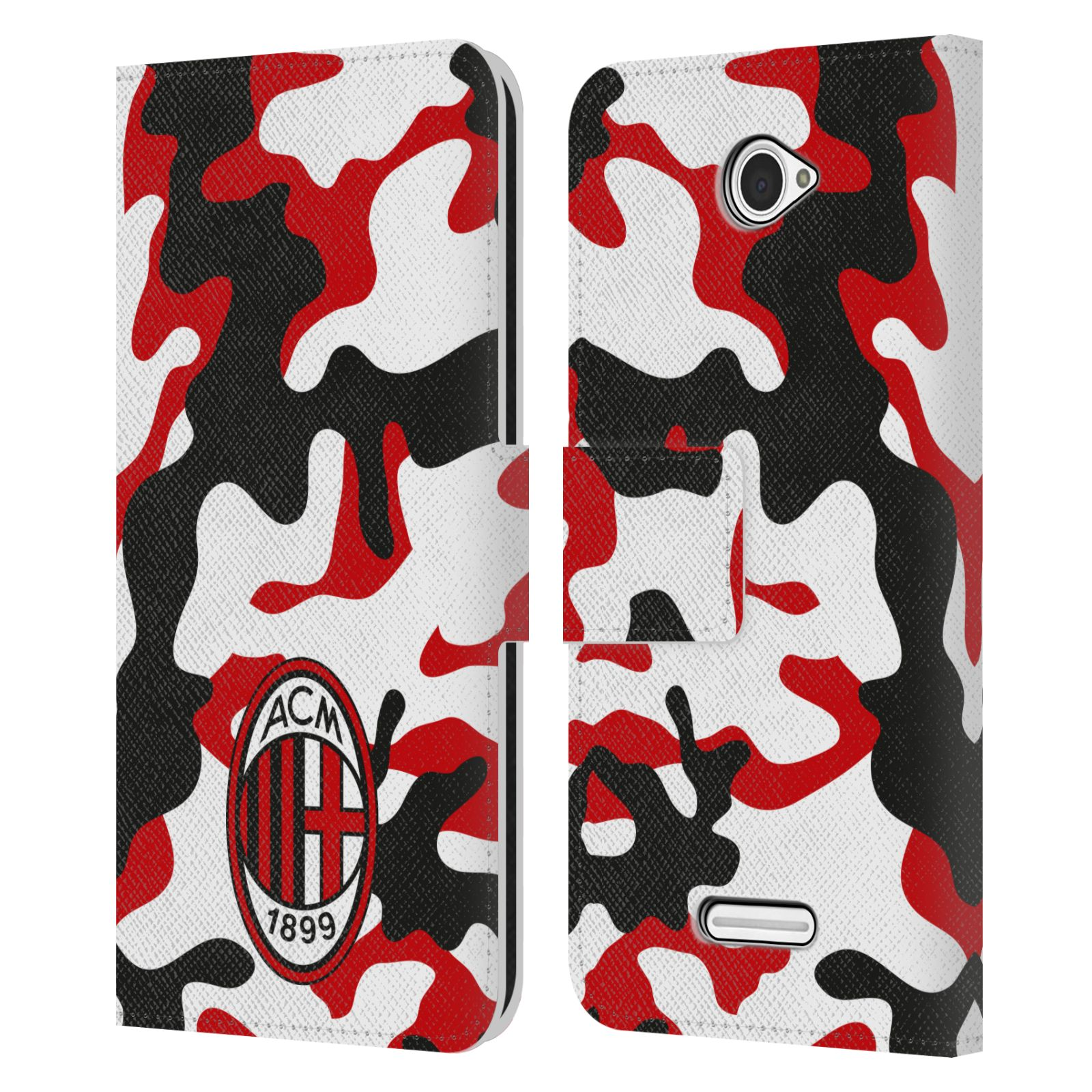 OFFICIAL-AC-MILAN-2018-19-CREST-PATTERNS-LEATHER-BOOK-CASE-FOR-SONY-PHONES-2