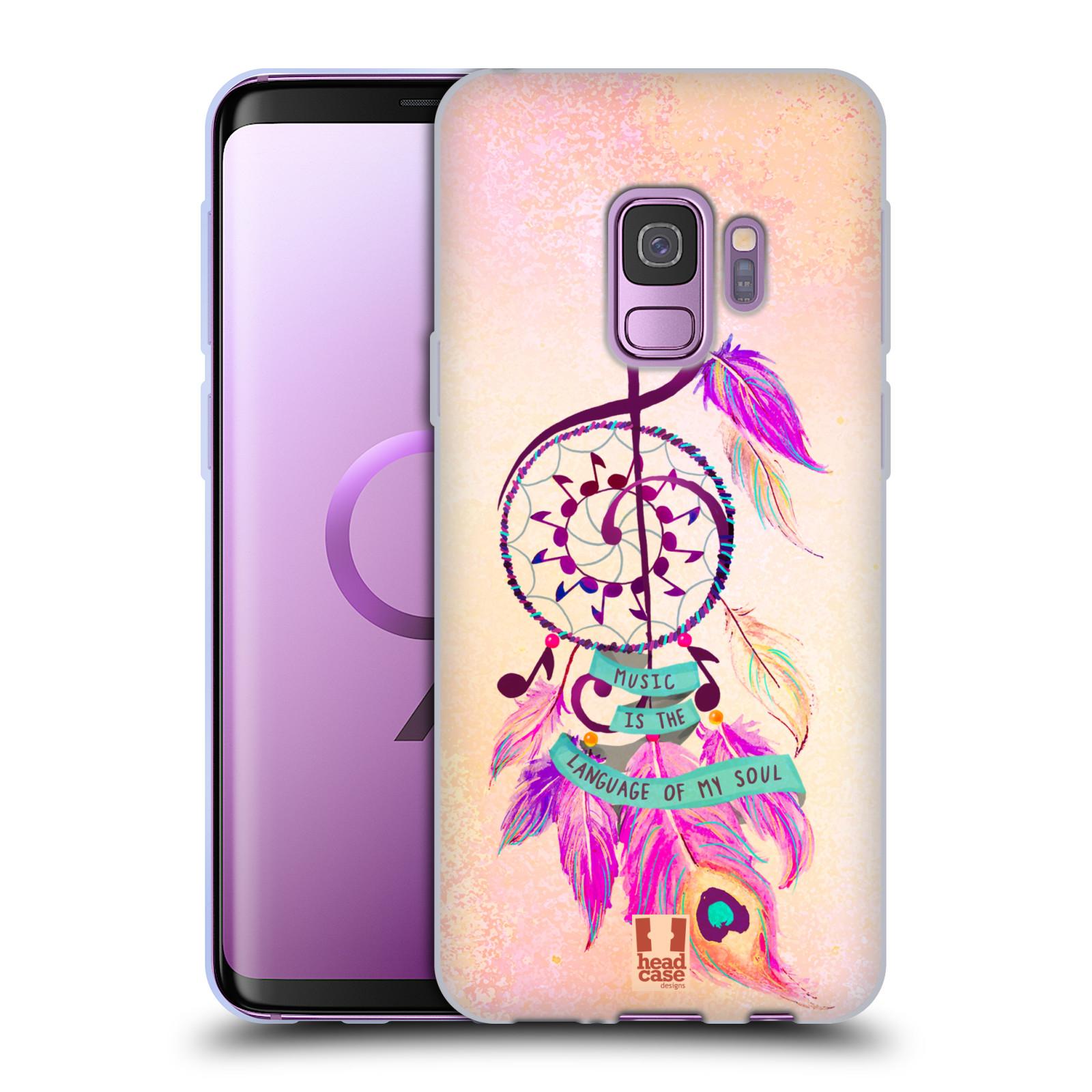 Funda-HEAD-CASE-DESIGNS-CON-Gel-Suave-Surtidos-atrapasuenos-para-telefonos-Samsung-1