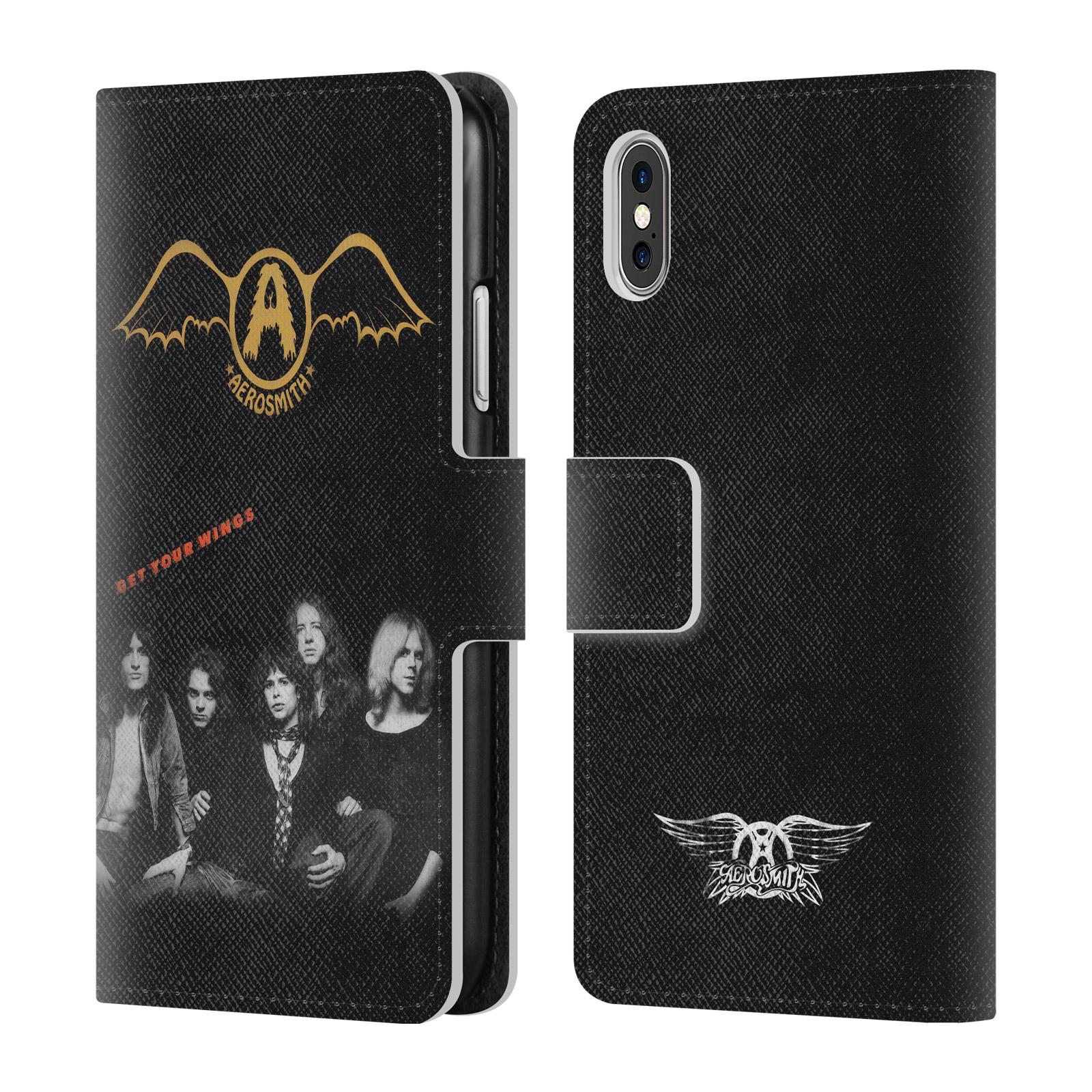 UFFICIALE-AEROSMITH-ALBUM-COVER-A-PORTAFOGLIO-IN-PELLE-PER-APPLE-iPHONE-TELEFONI