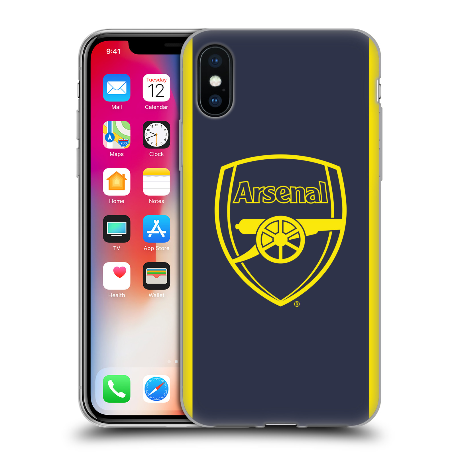 OFFICIAL-ARSENAL-FC-2016-17-CREST-KIT-SOFT-GEL-CASE-FOR-APPLE-iPHONE-PHONES