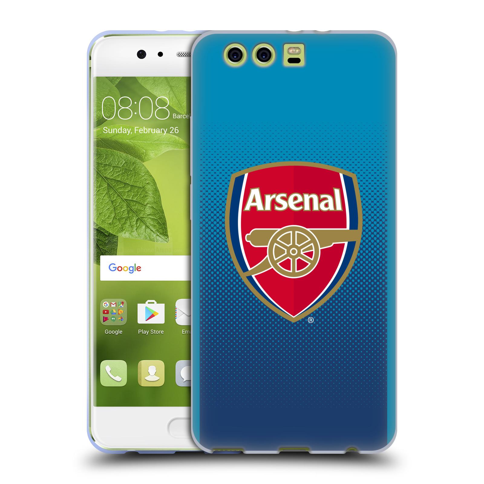 Oficial-Arsenal-FC-2017-18-Crest-Kit-Suave-con-Gel-para-Huawei-Telefonos