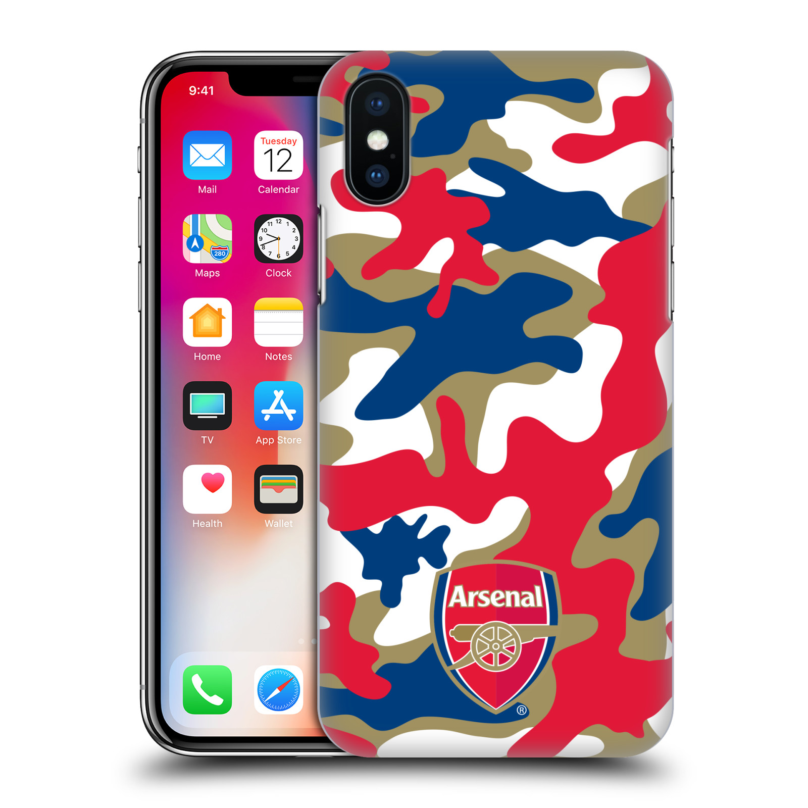 OFFICIAL-ARSENAL-FC-2017-18-CREST-PATTERNS-BACK-CASE-FOR-APPLE-iPHONE-PHONES