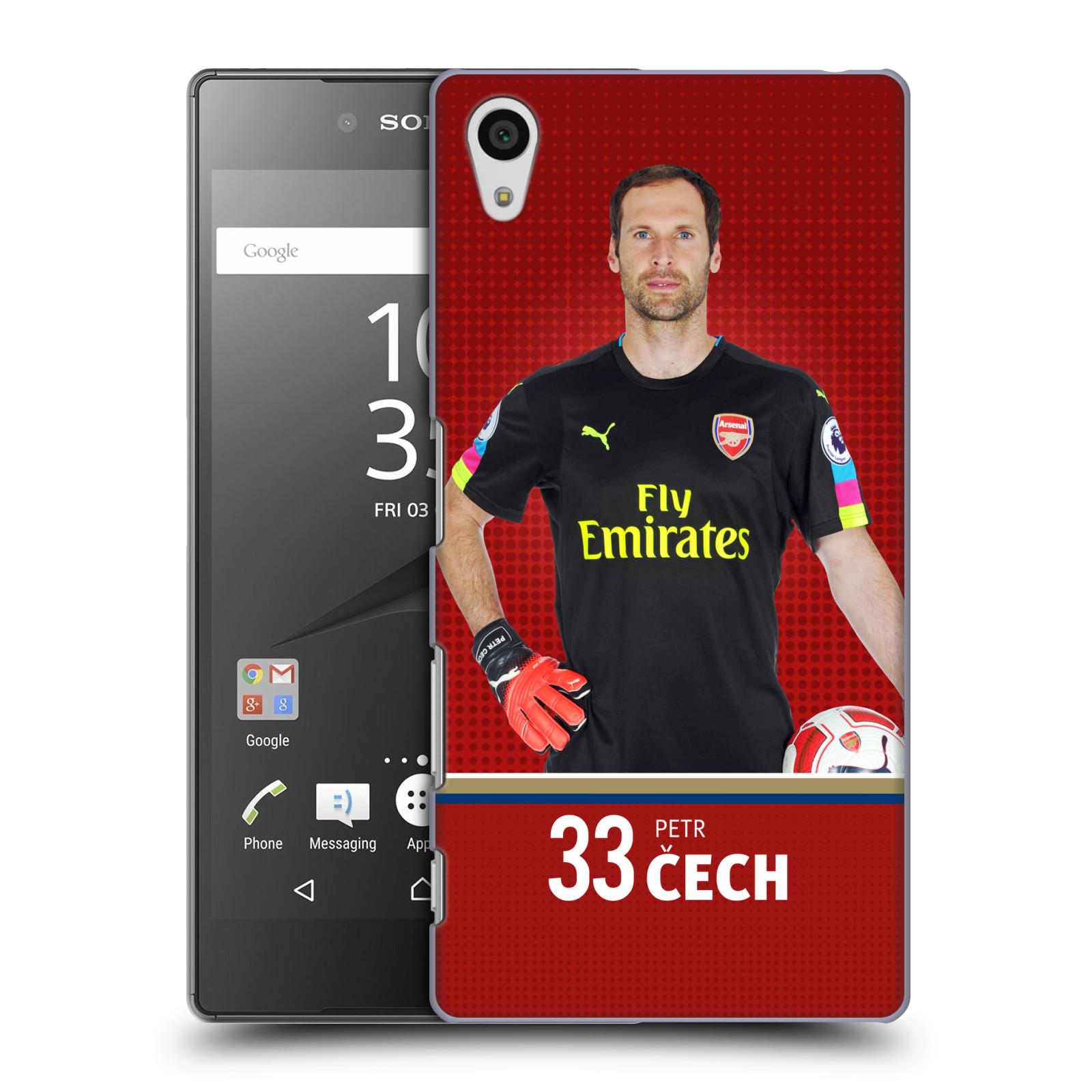 Plastové pouzdro na mobil Sony Xperia Z5 - Head Case - Arsenal FC - Petr Čech