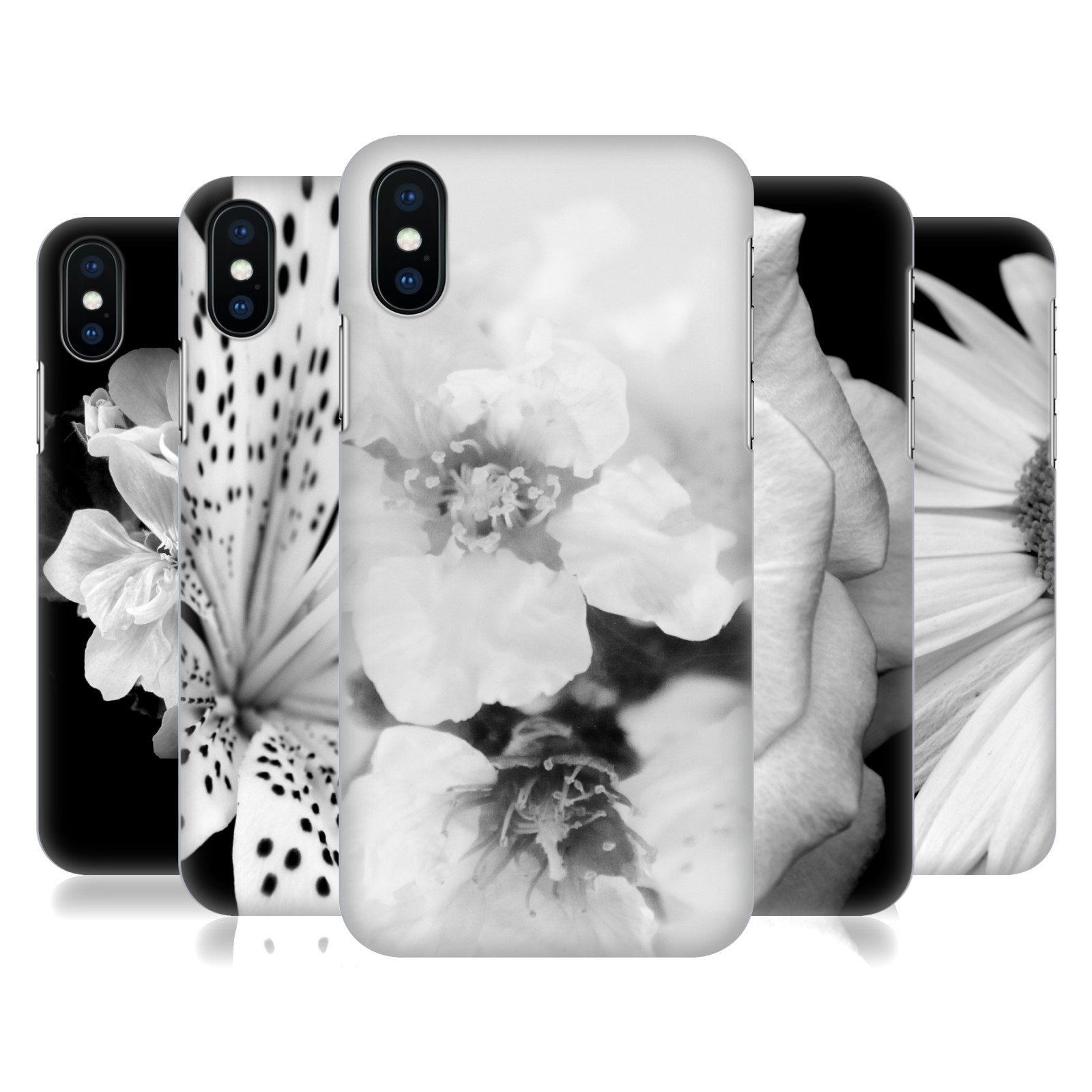 ARTbyJWP Black And White Floral