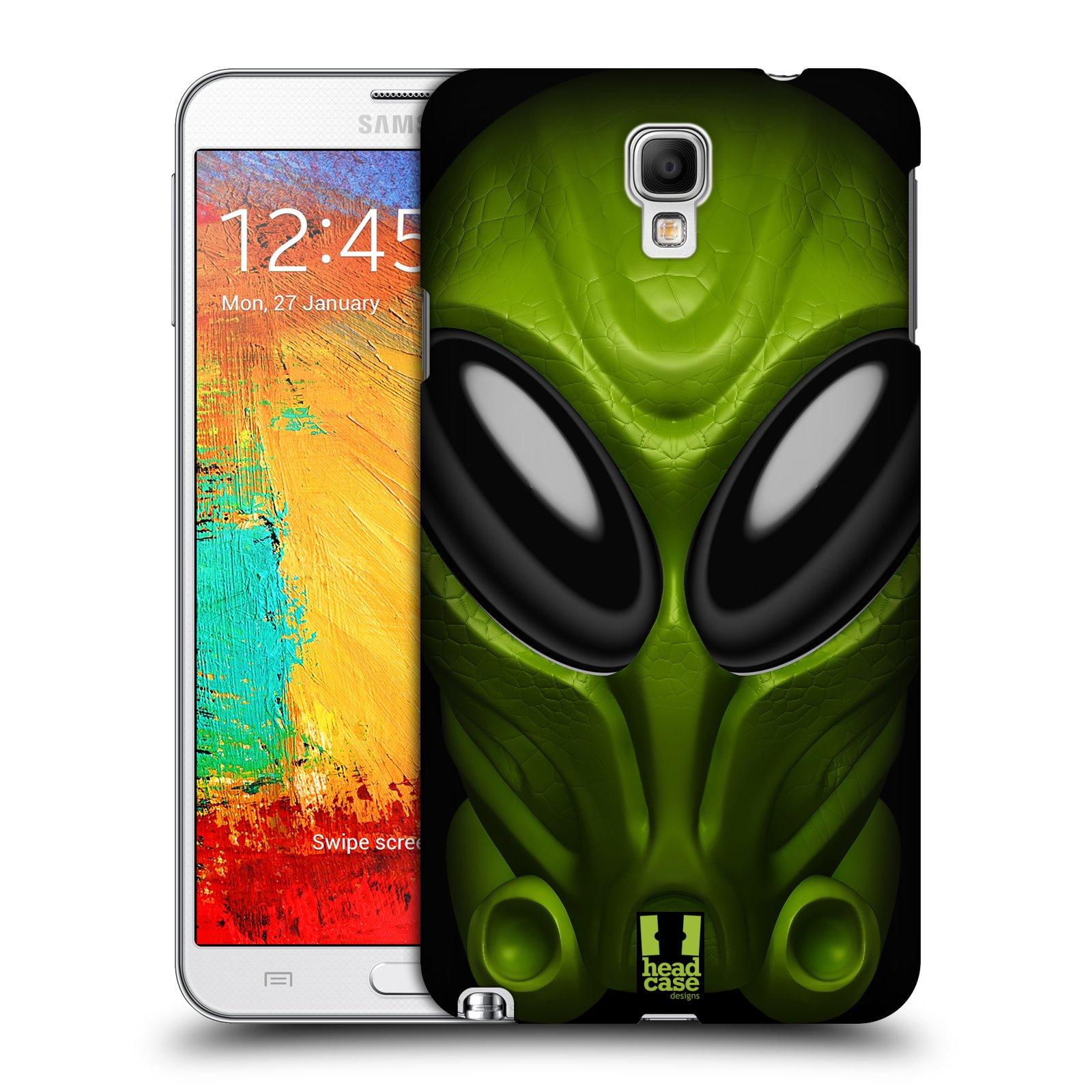 Plastové pouzdro na mobil Samsung Galaxy Note 3 Neo - Head Case - Ufoun Mastermind