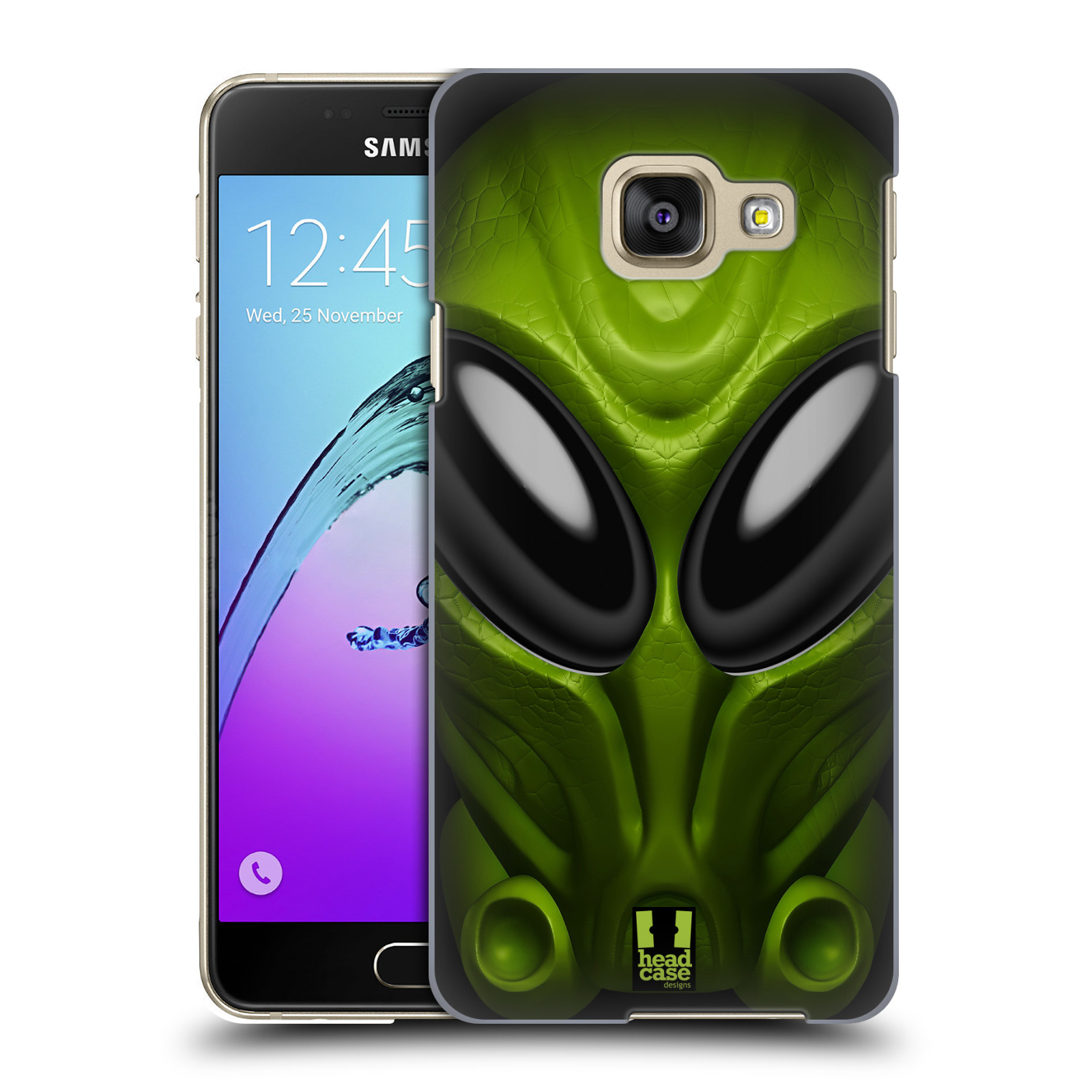 Plastové pouzdro na mobil Samsung Galaxy A3 (2016) - Head Case - Ufoun Mastermind