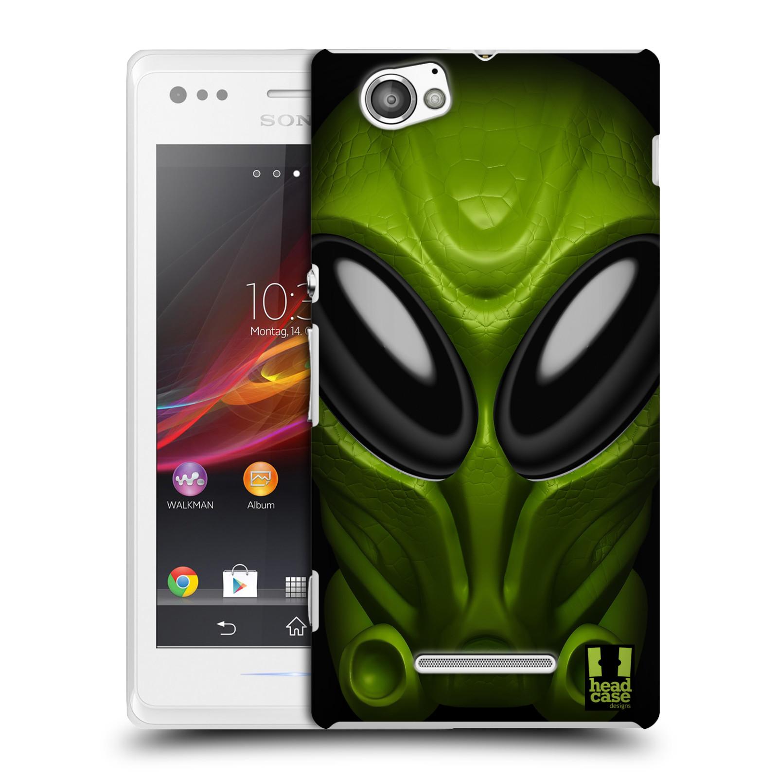 Plastové pouzdro na mobil Sony Xperia M C1905 - Head Case - Ufoun Mastermind