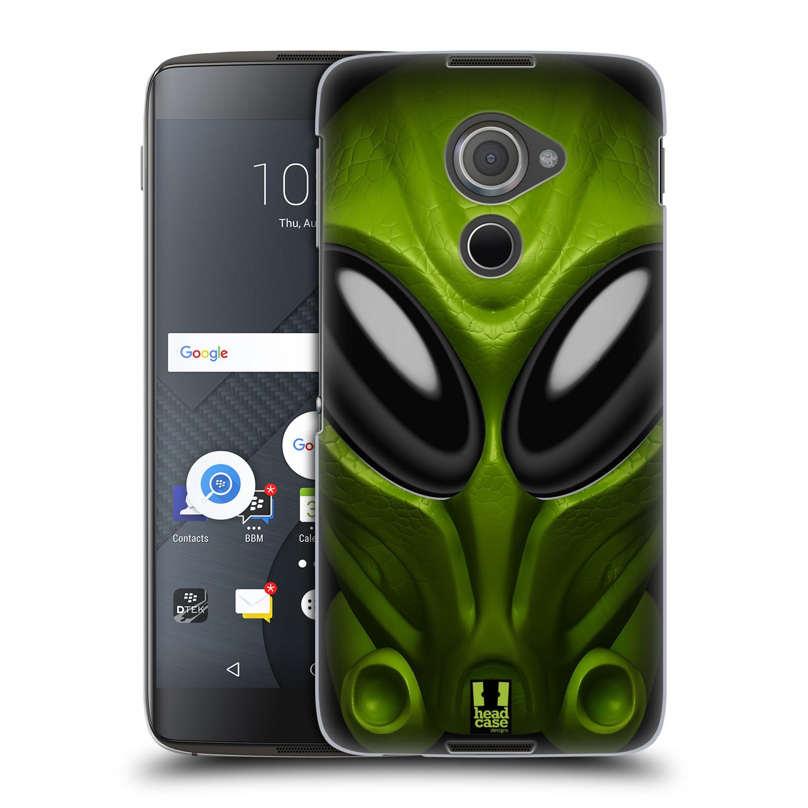 Plastové pouzdro na mobil Blackberry DTEK60 (Argon) - Head Case - Ufoun Mastermind