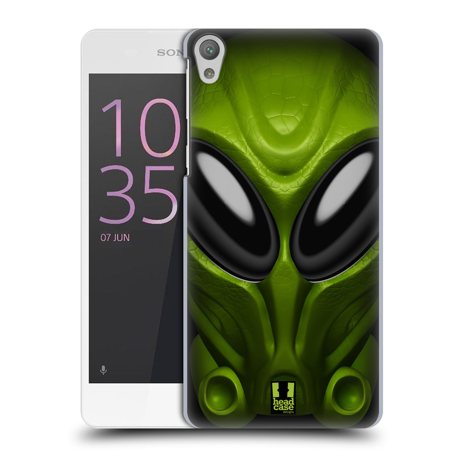 Plastové pouzdro na mobil Sony Xperia E5 - Head Case - Ufoun Mastermind