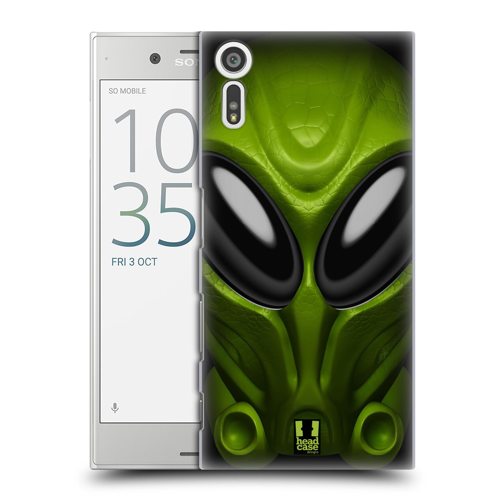 Plastové pouzdro na mobil Sony Xperia XZ - Head Case - Ufoun Mastermind (Plastový kryt či obal na mobilní telefon s motivem Ufouna Masterminda pro Sony Xperia XZ F8331 / Sony Xperia XZ Dual F8332)