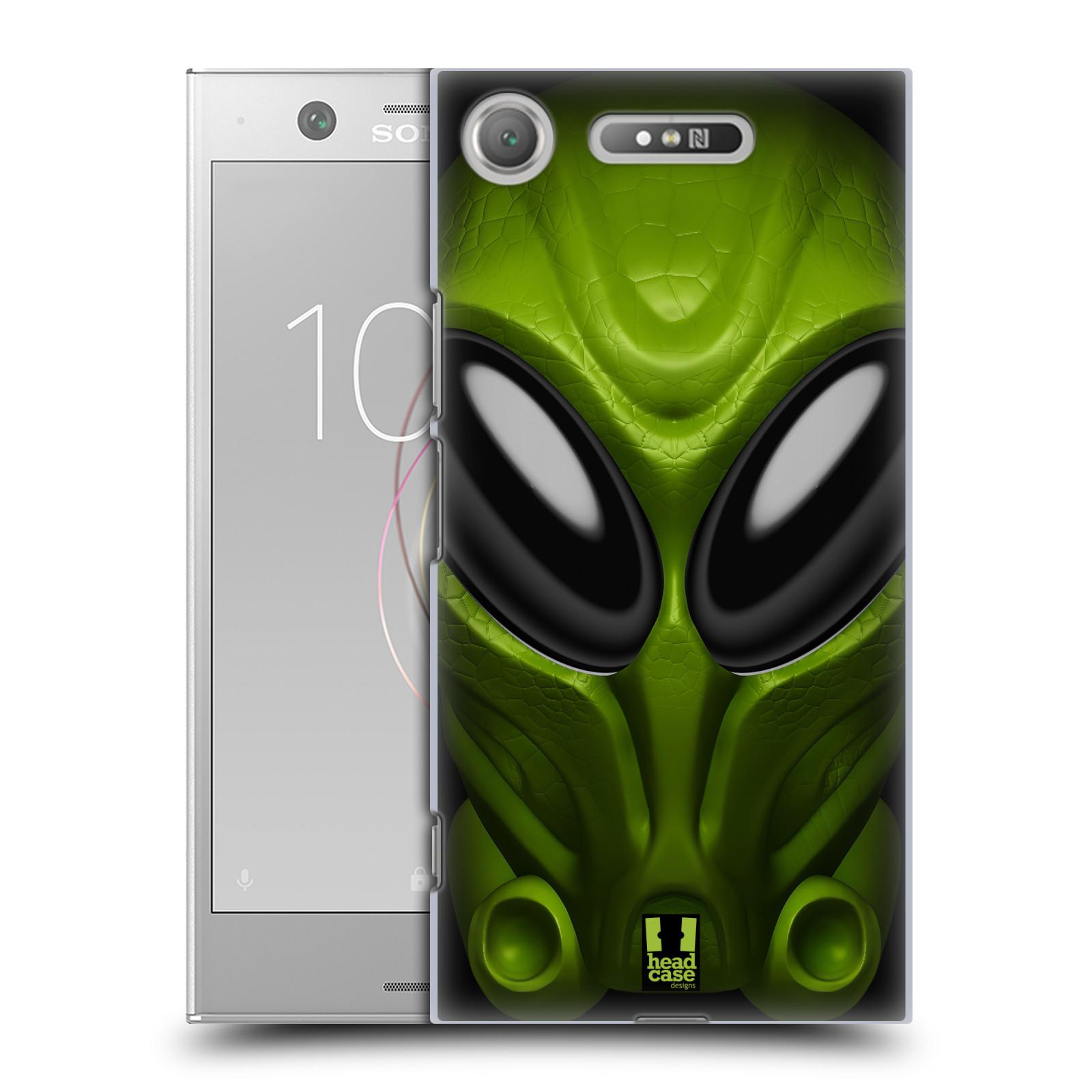 Plastové pouzdro na mobil Sony Xperia XZ1 - Head Case - Ufoun Mastermind