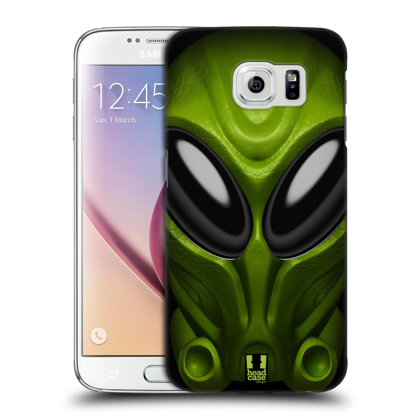 Plastové pouzdro na mobil Samsung Galaxy S6 - Head Case - Ufoun Mastermind