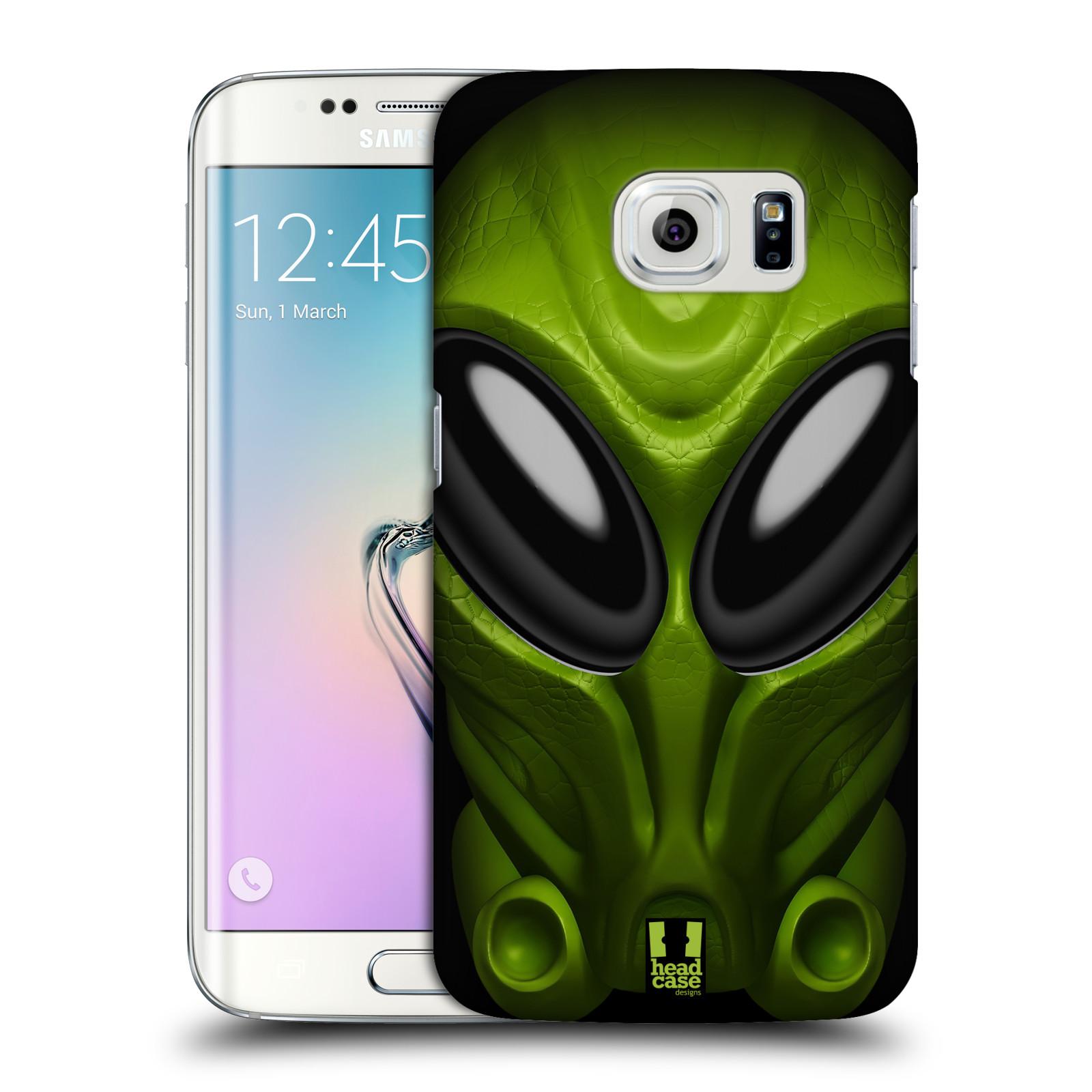 Plastové pouzdro na mobil Samsung Galaxy S6 Edge - Head Case - Ufoun Mastermind