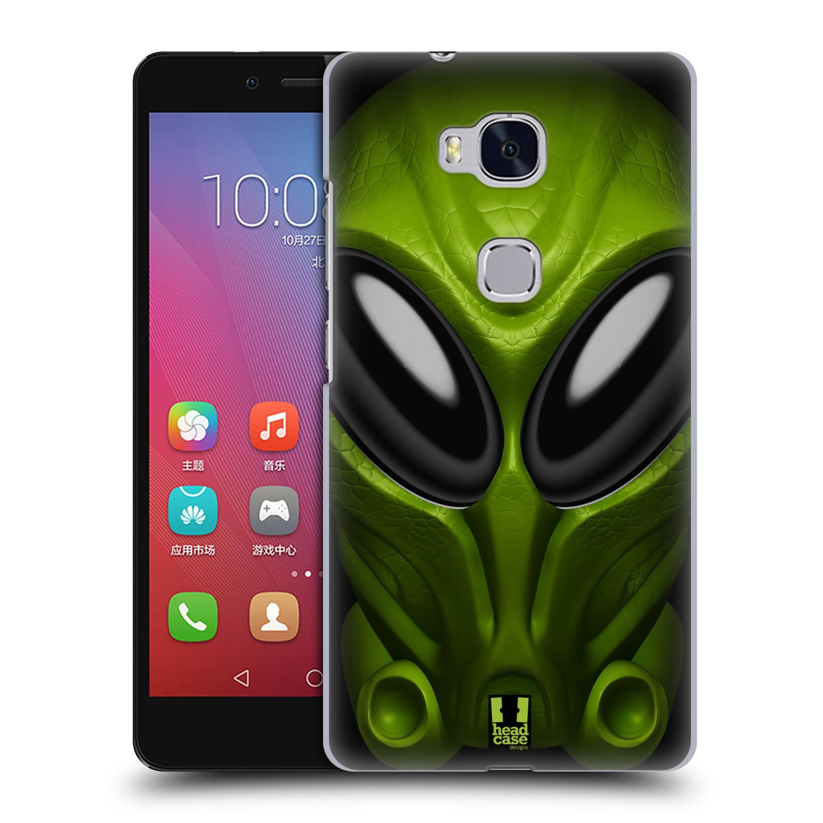 Plastové pouzdro na mobil Honor 5X - Head Case - Ufoun Mastermind