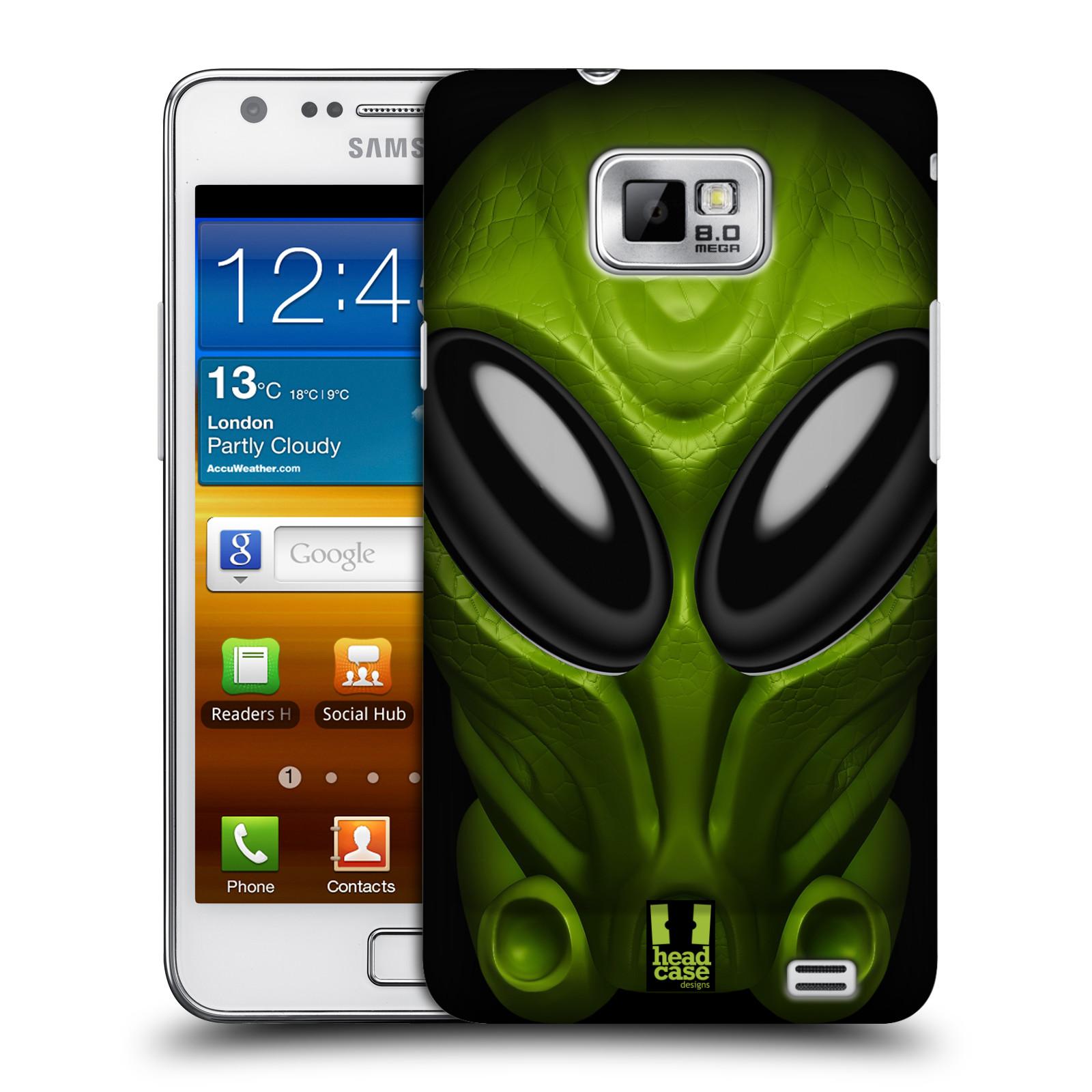 Plastové pouzdro na mobil Samsung Galaxy S II - Head Case - Ufoun Mastermind