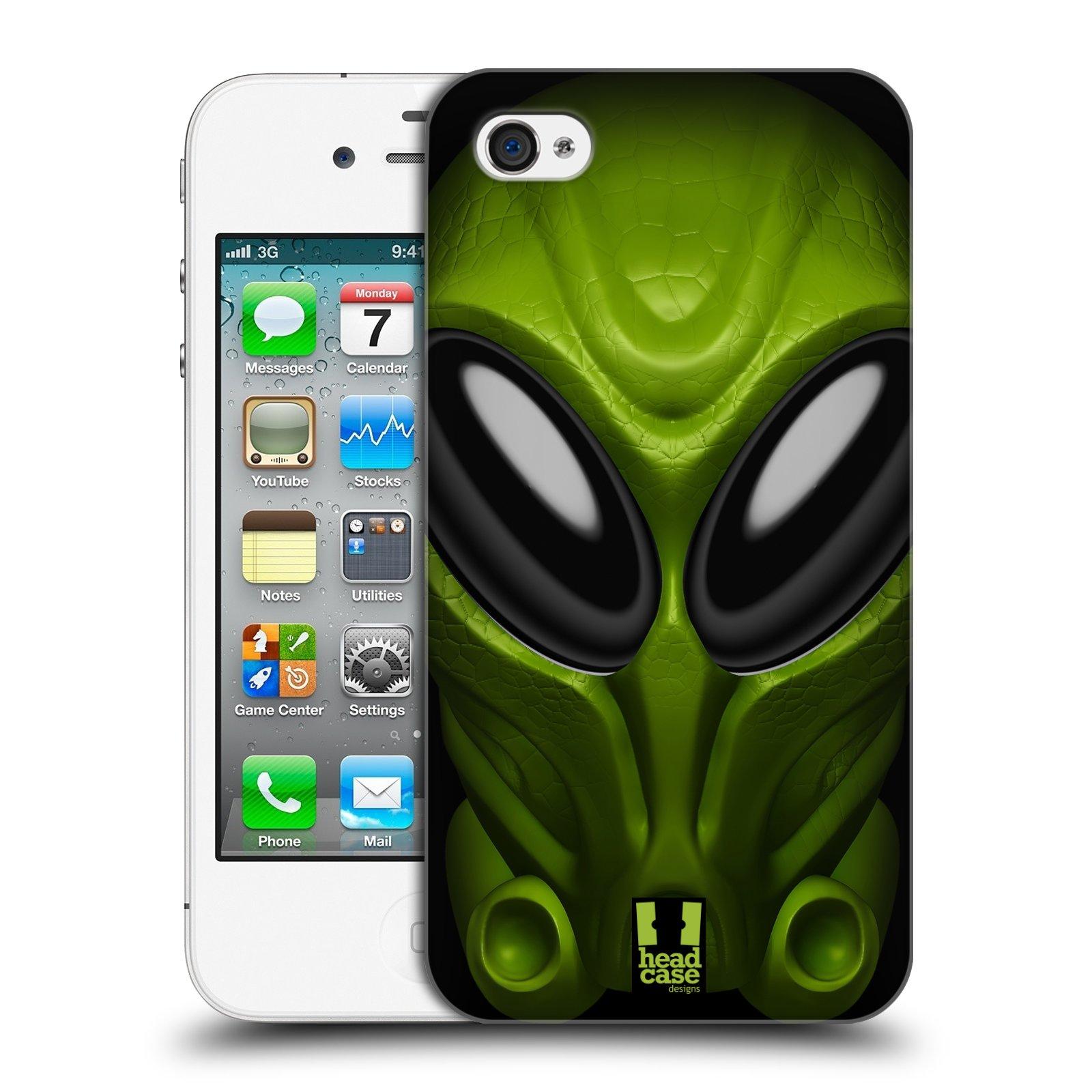 Plastové pouzdro na mobil Apple iPhone 4 a 4S - Head Case - Ufoun Mastermind