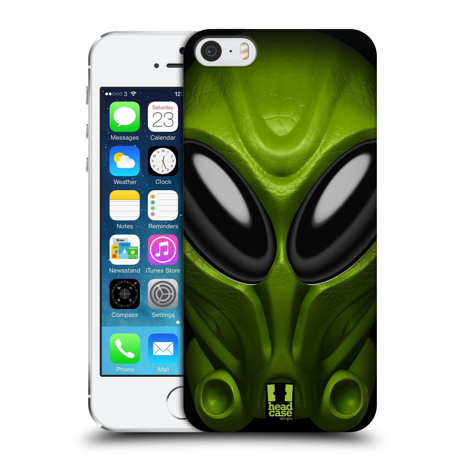 Plastové pouzdro na mobil Apple iPhone SE, 5 a 5S - Head Case - Ufoun Mastermind
