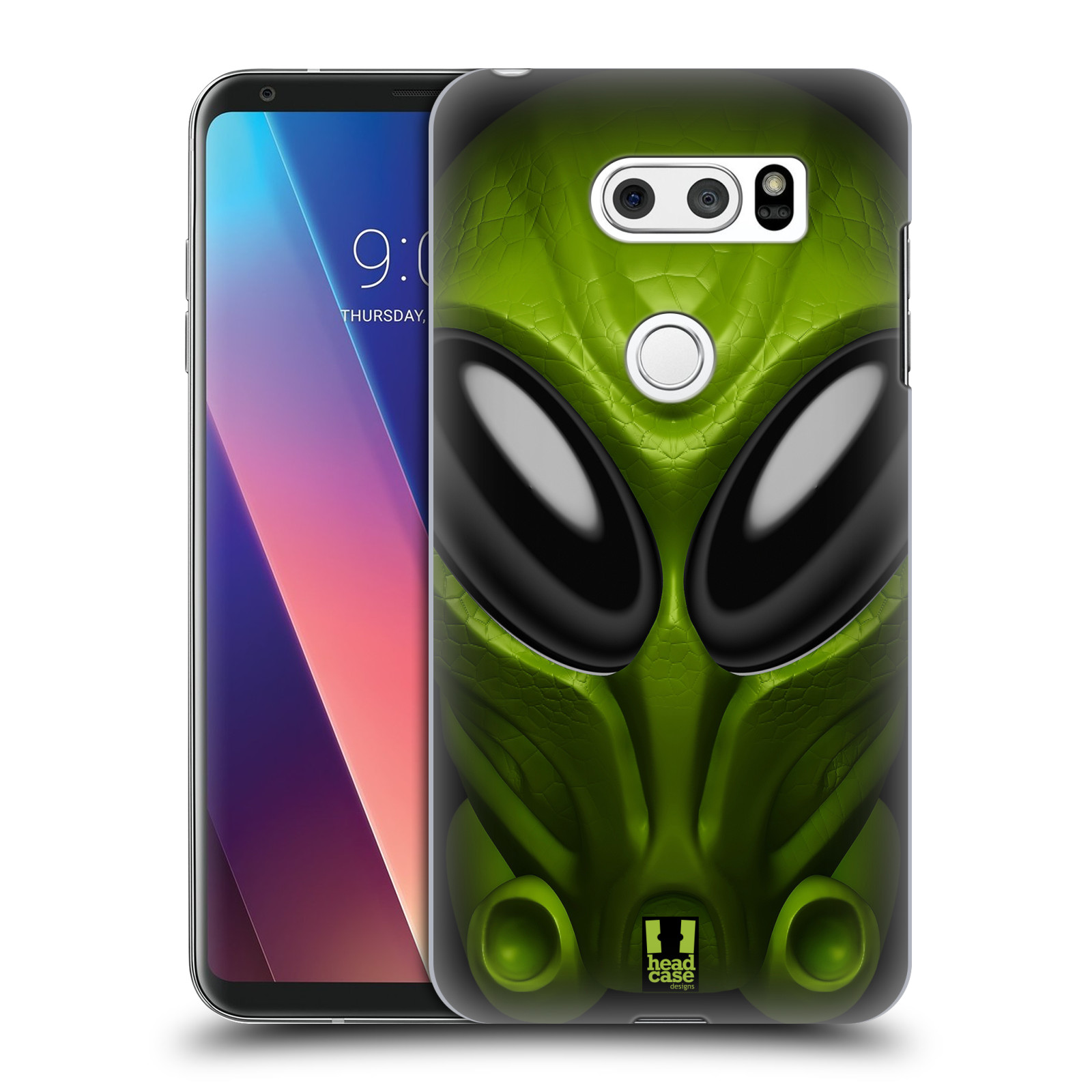 Plastové pouzdro na mobil LG V30 - Head Case - Ufoun Mastermind