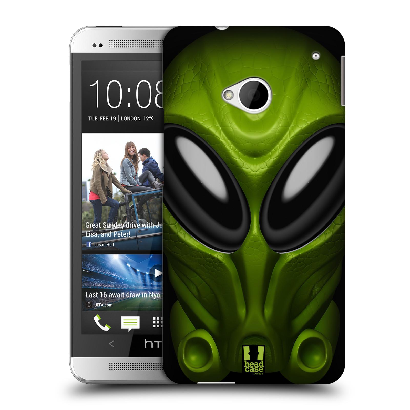 Plastové pouzdro na mobil HTC ONE M7 - Head Case - Ufoun Mastermind