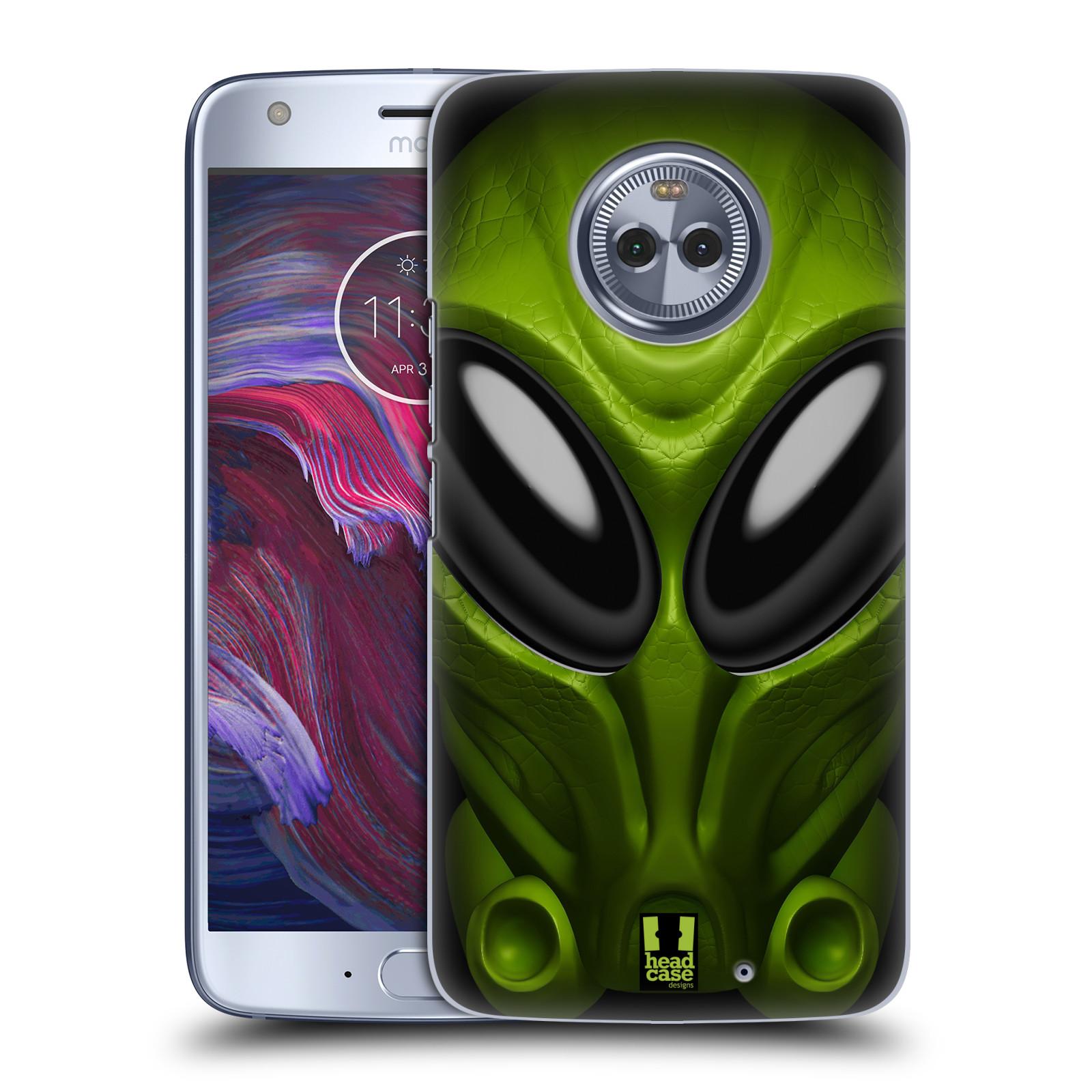 Plastové pouzdro na mobil Lenovo Moto X4 - Head Case - Ufoun Mastermind