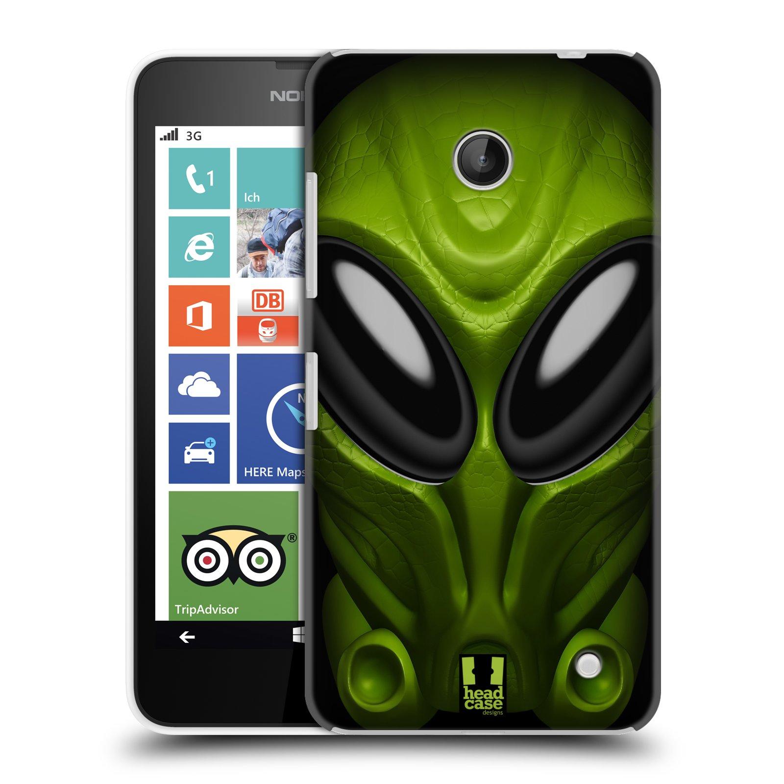 Plastové pouzdro na mobil Nokia Lumia 630 - Head Case - Ufoun Mastermind