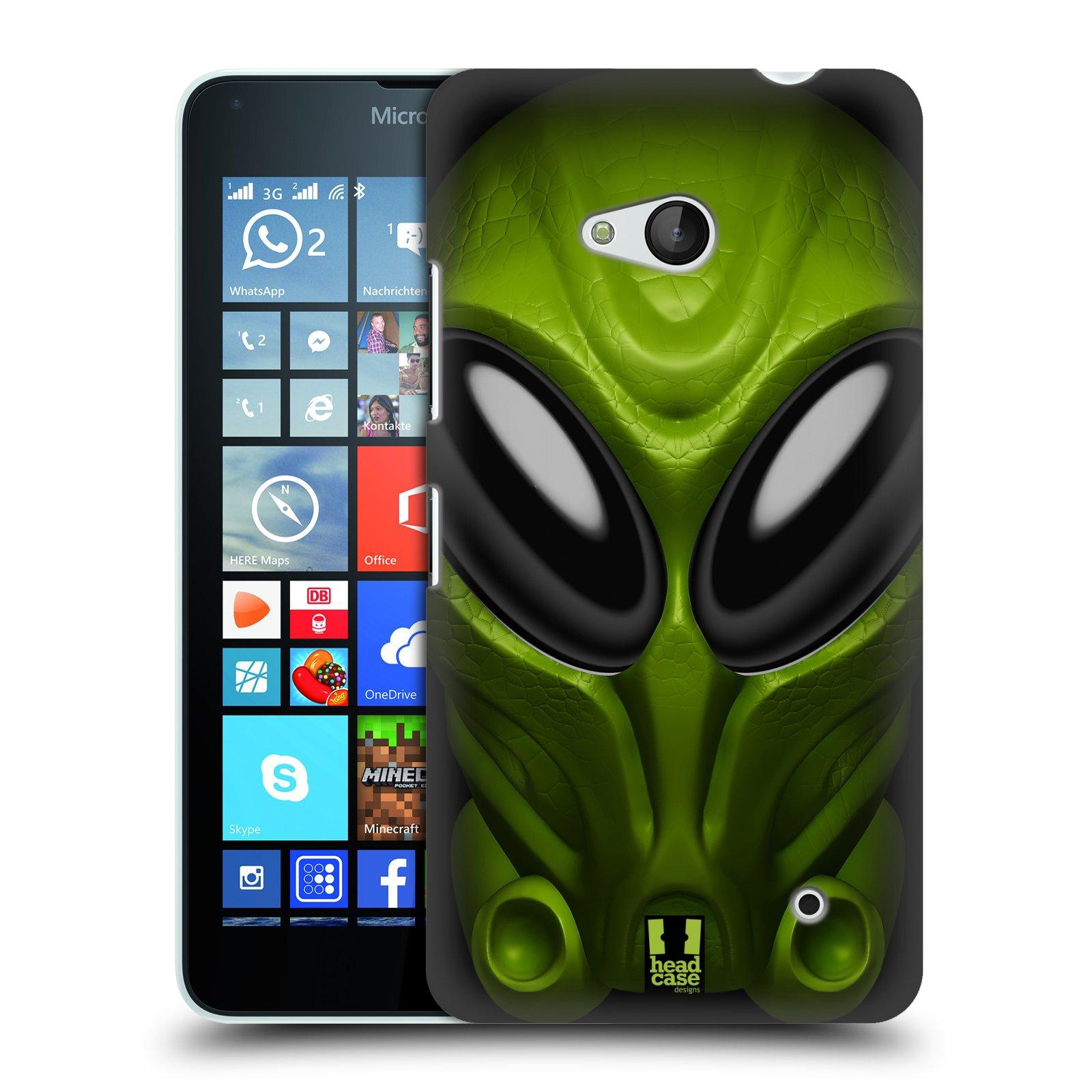 Plastové pouzdro na mobil Microsoft Lumia 640 - Head Case - Ufoun Mastermind