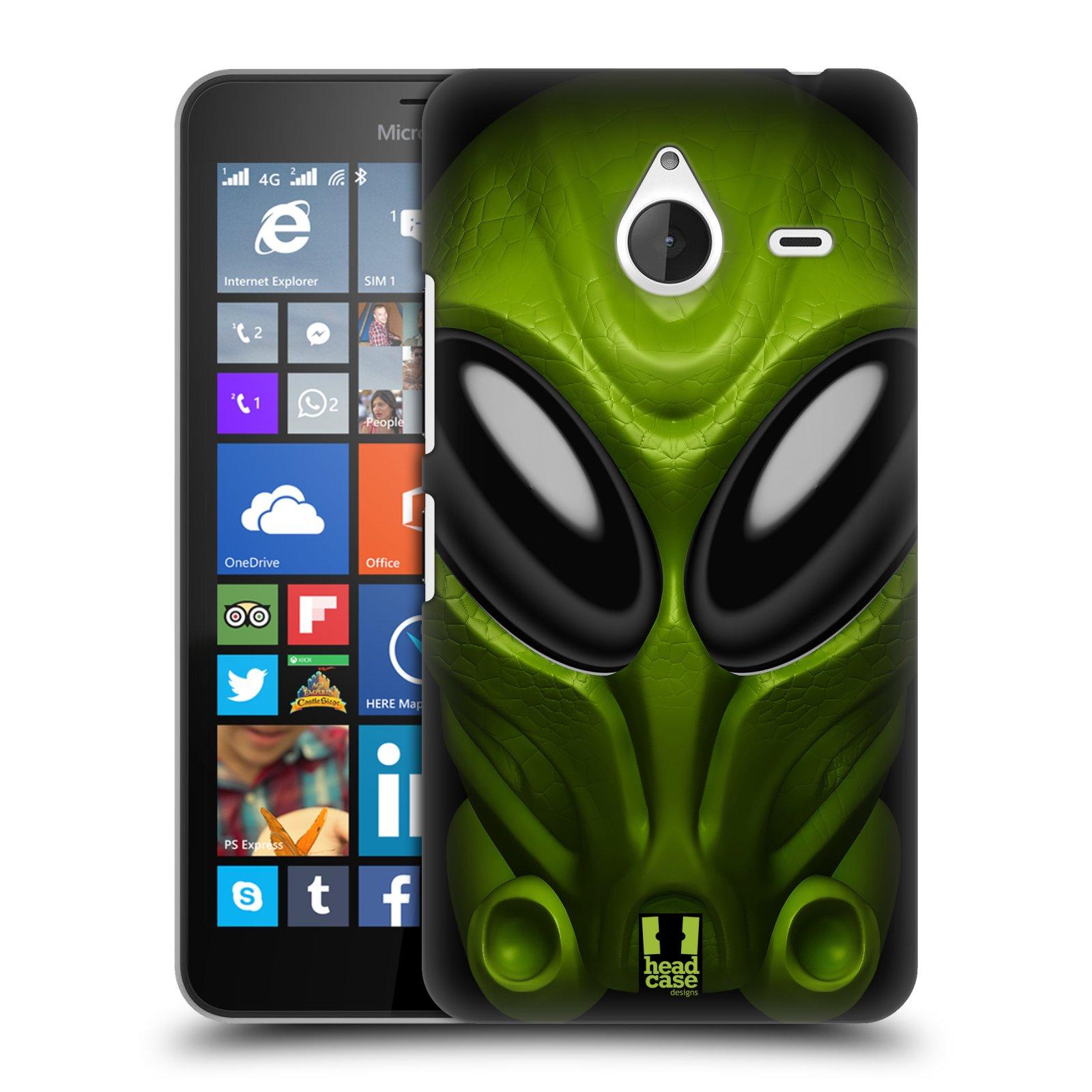 Plastové pouzdro na mobil Microsoft Lumia 640 XL - Head Case - Ufoun Mastermind